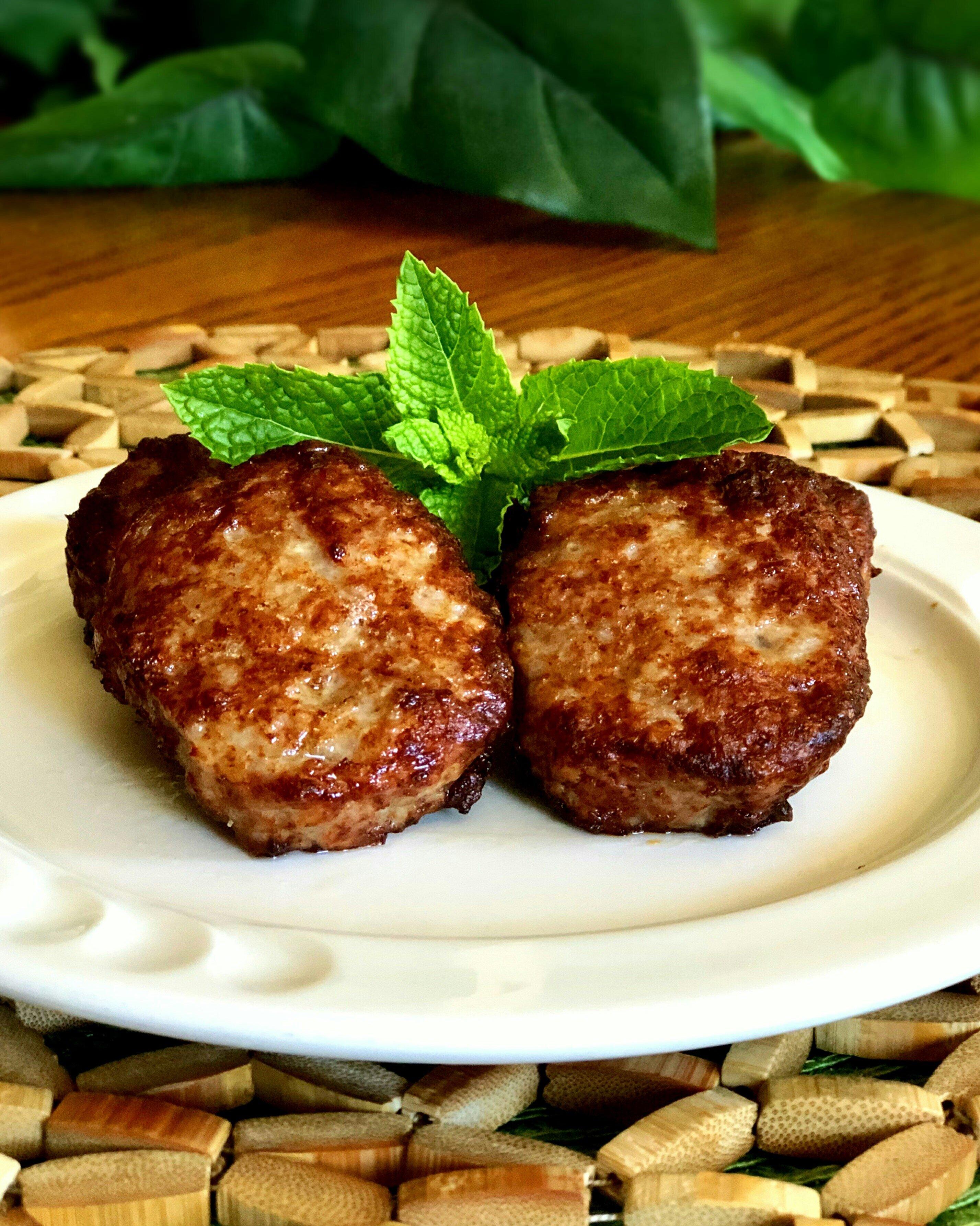air fryer sausage patties recipe