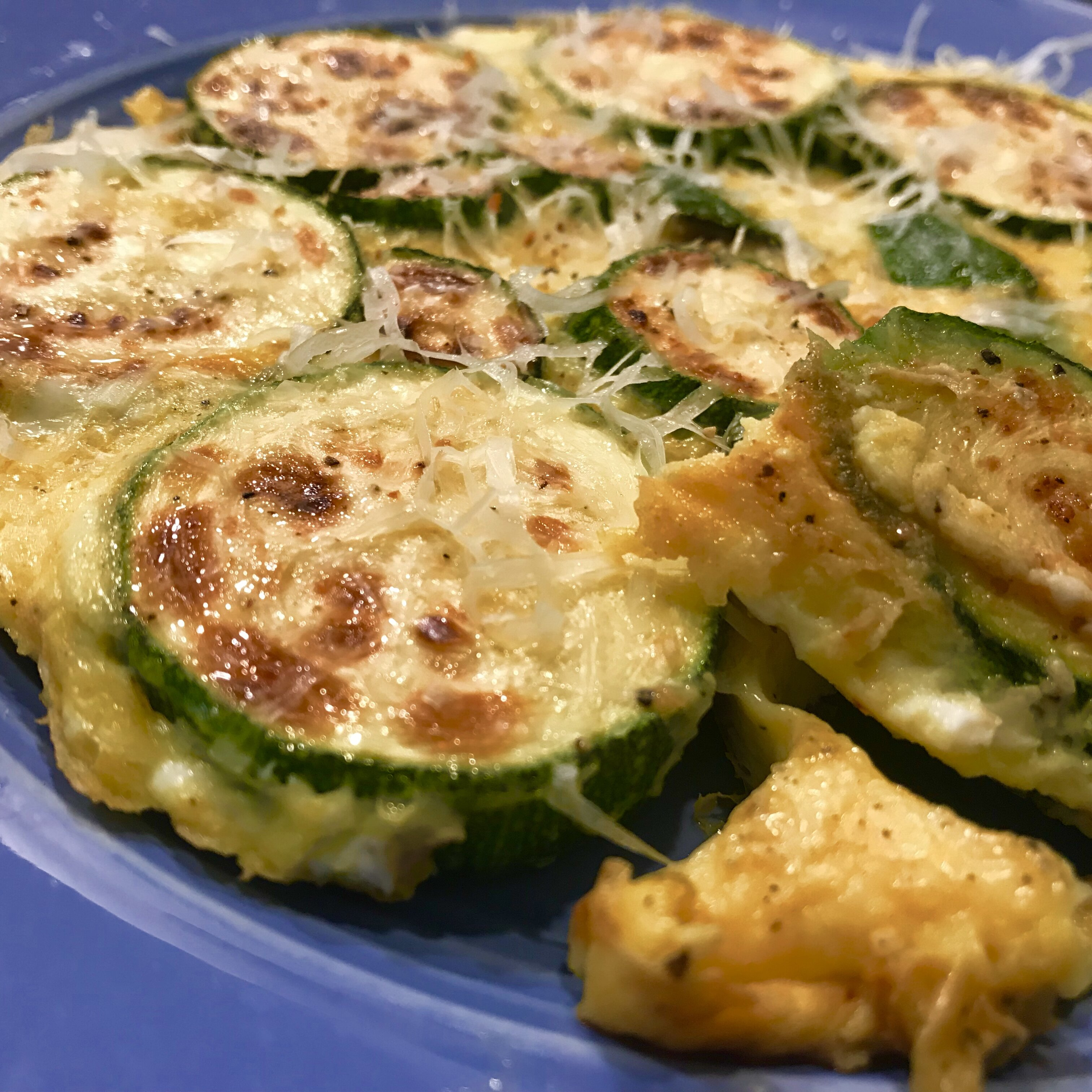 scrambled eggs with zucchini recipe