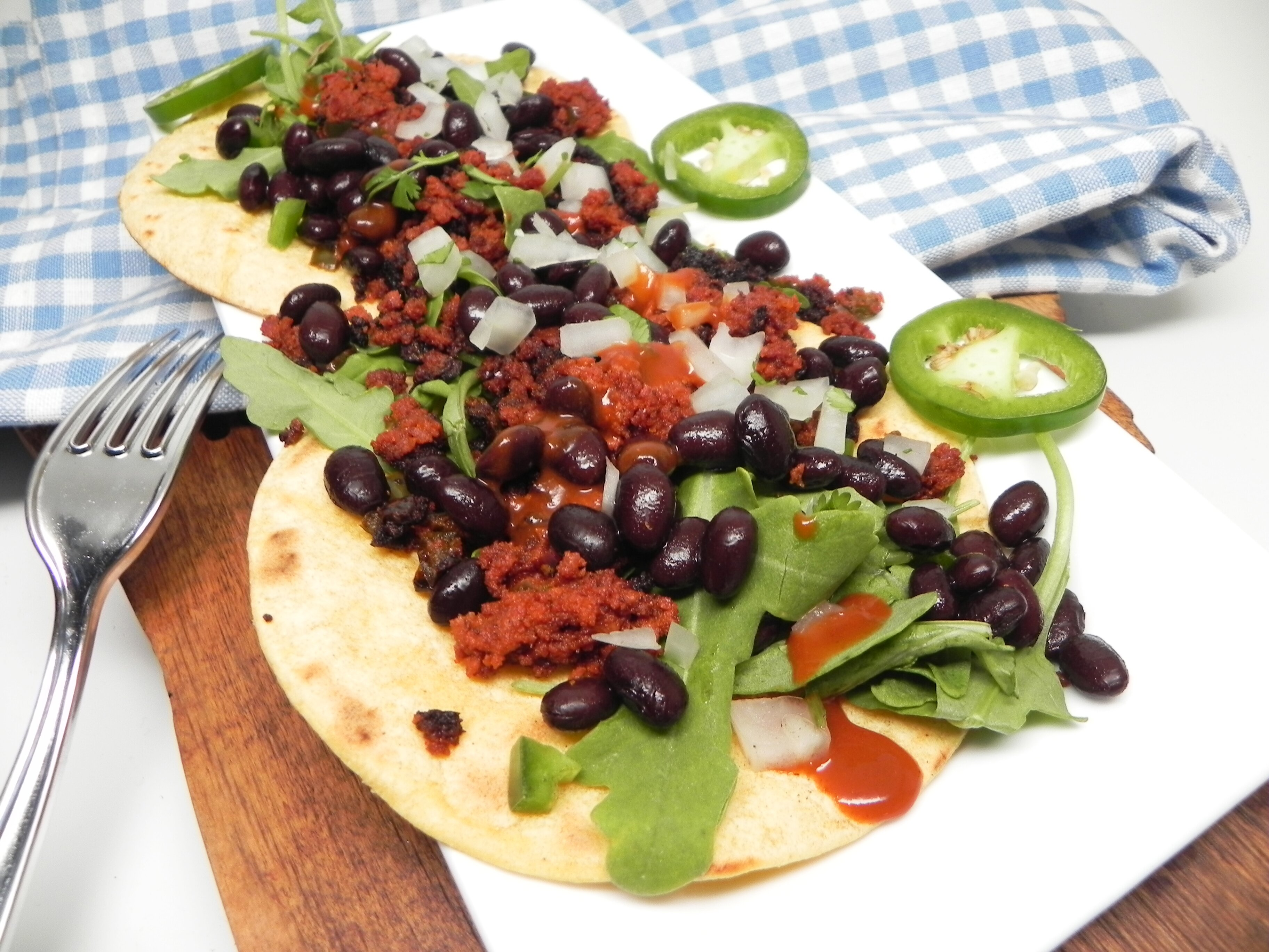 soy chorizo taco filling recipe