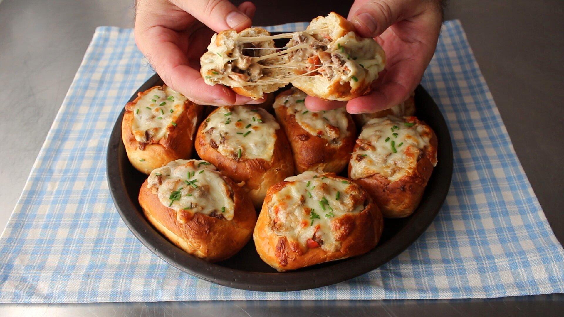 baked philly cheesesteak sliders recipe