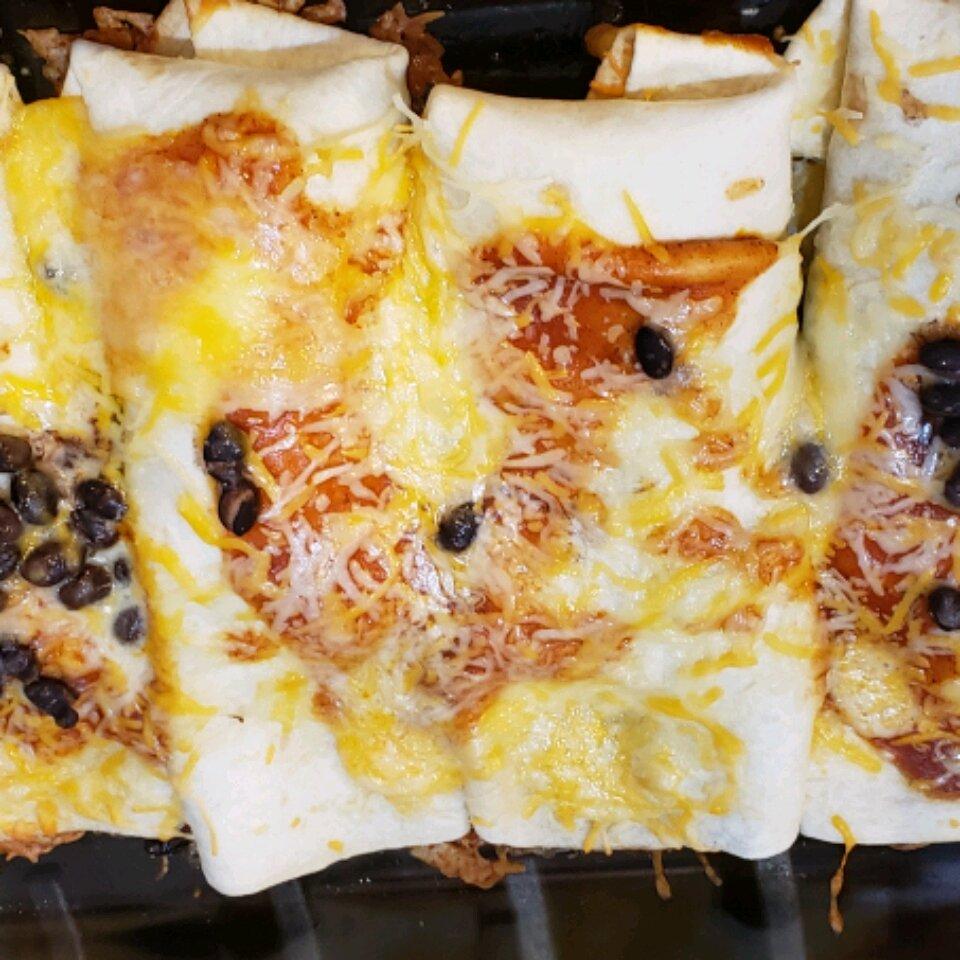 sweet pork enchiladas recipe