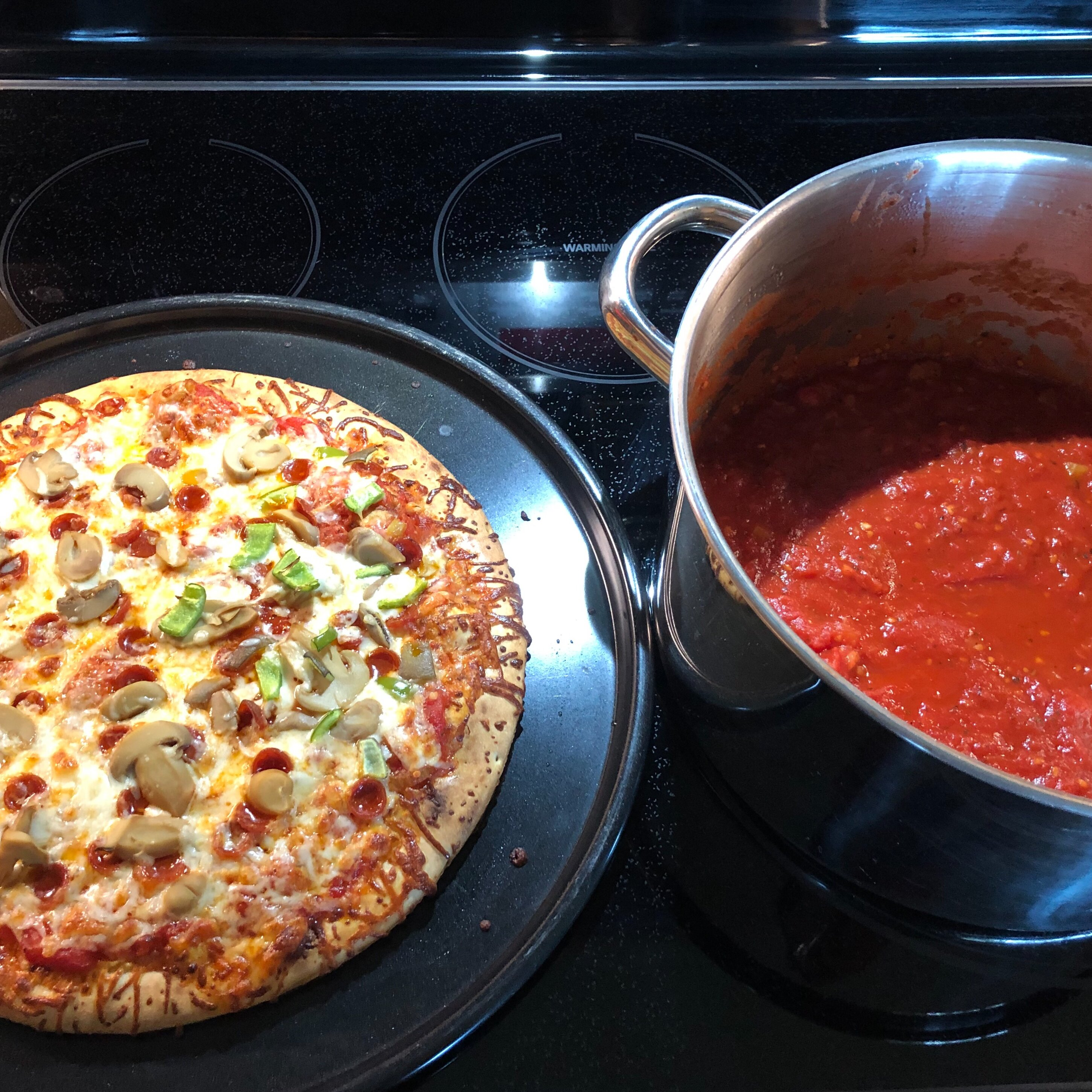 canning pizza or spaghetti sauce from fresh tomatoes recipe