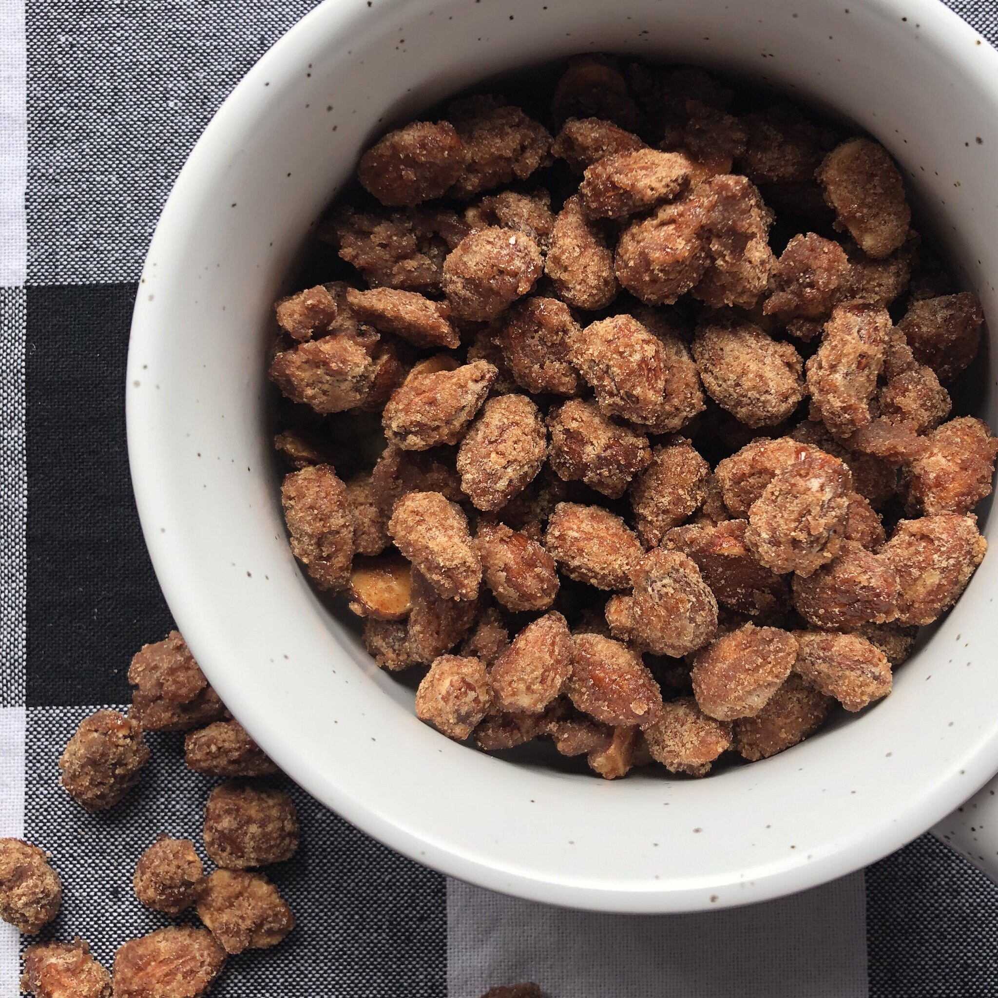 candied almonds recipe