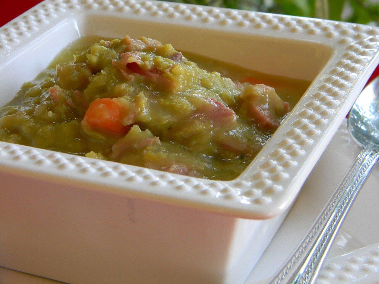 tackee davids split pea with ham recipe