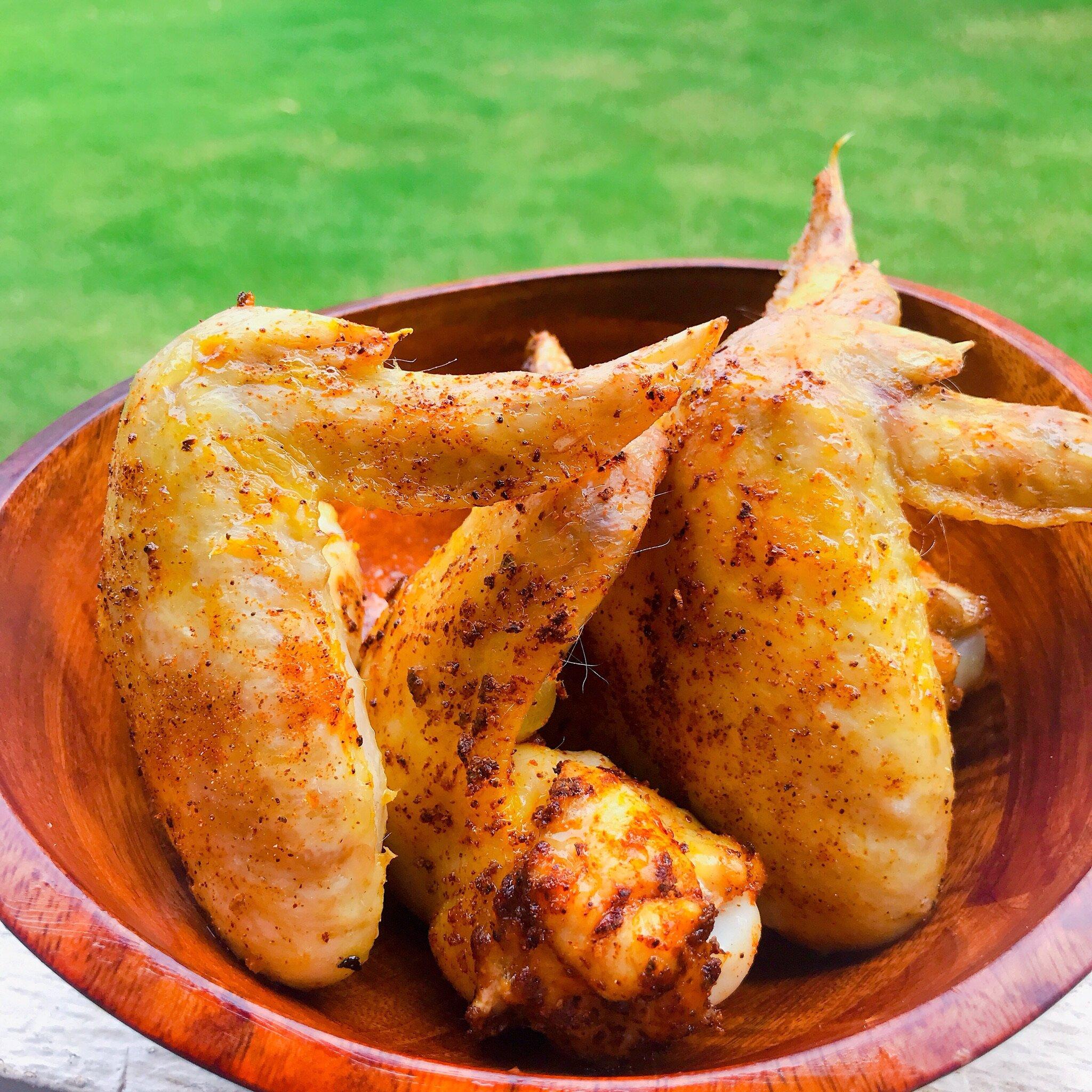 air fryer keto chicken wings recipe