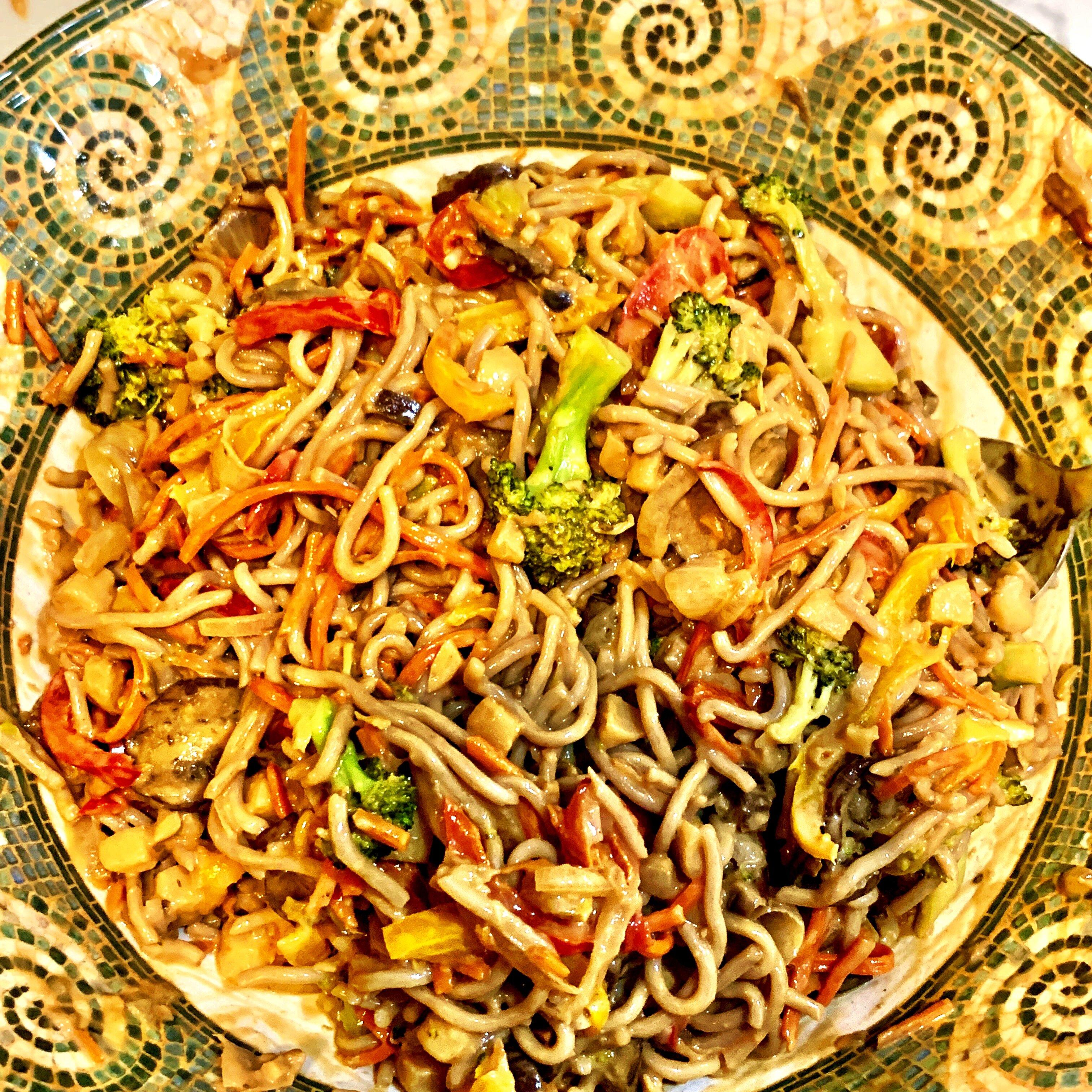 amazing peanut soba noodles recipe
