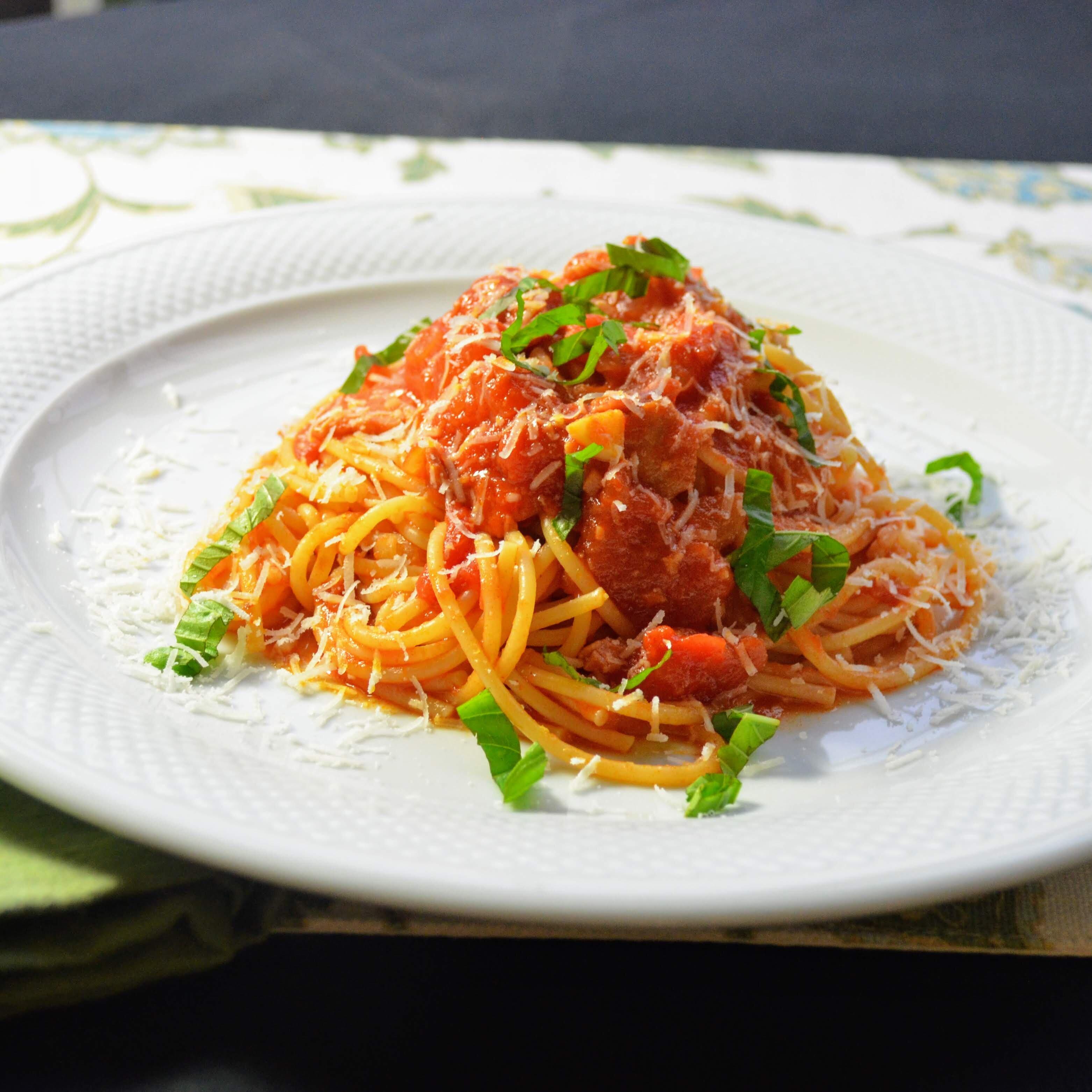 enzos spaghetti allamatriciana recipe