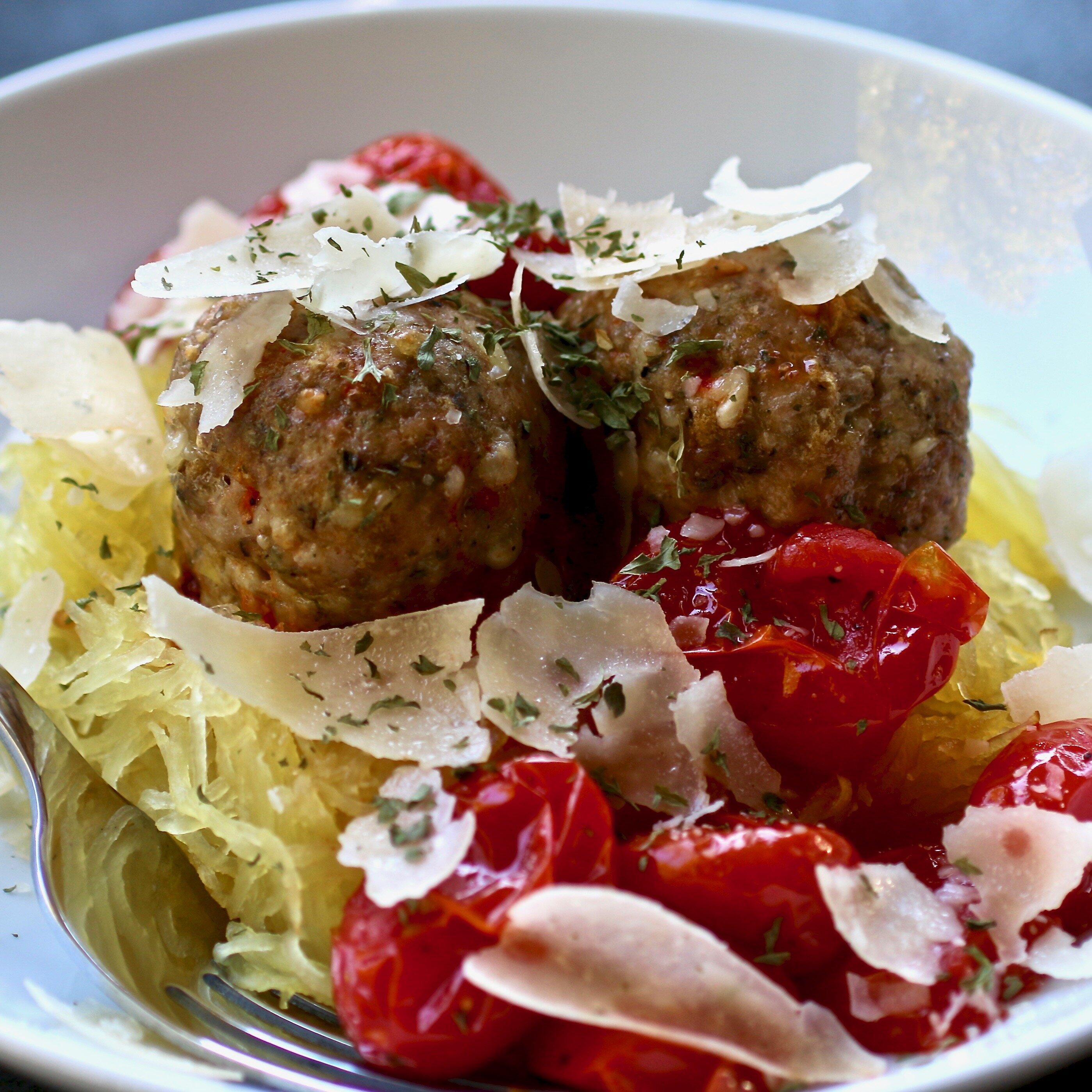 keto italian turkey meatballs recipe