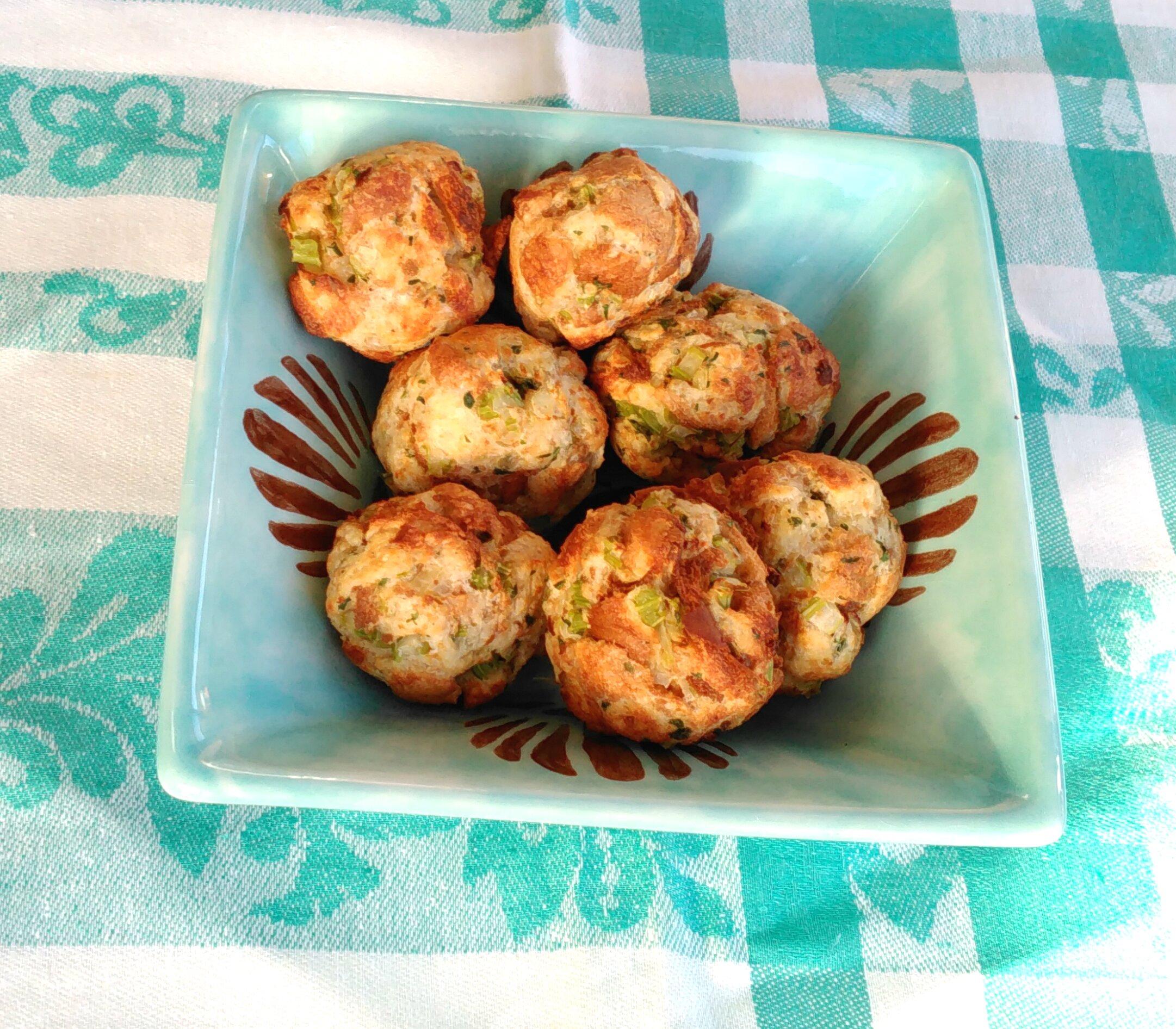 air fryer stuffing balls recipe