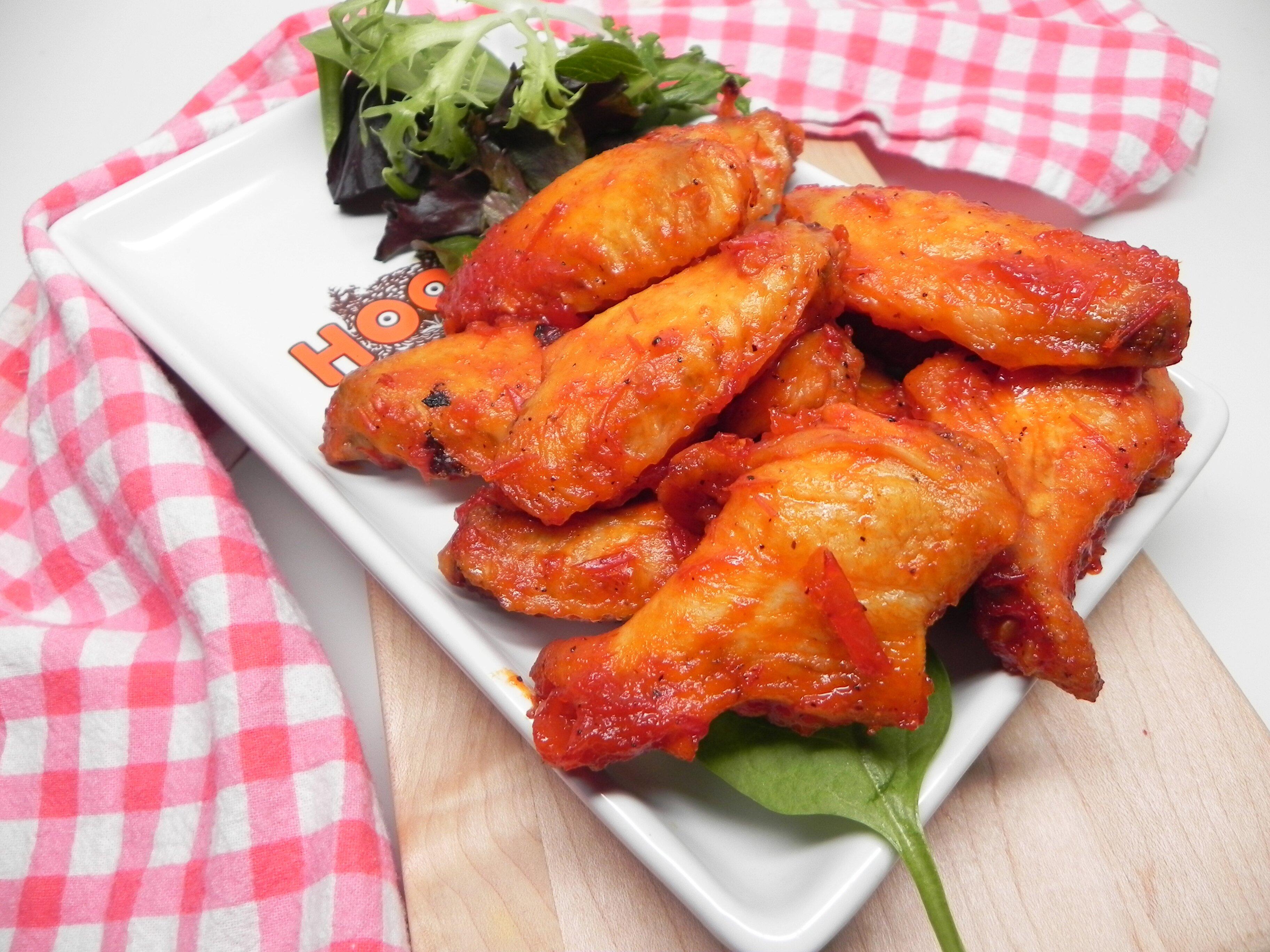 baked lemon pepper harissa wings recipe