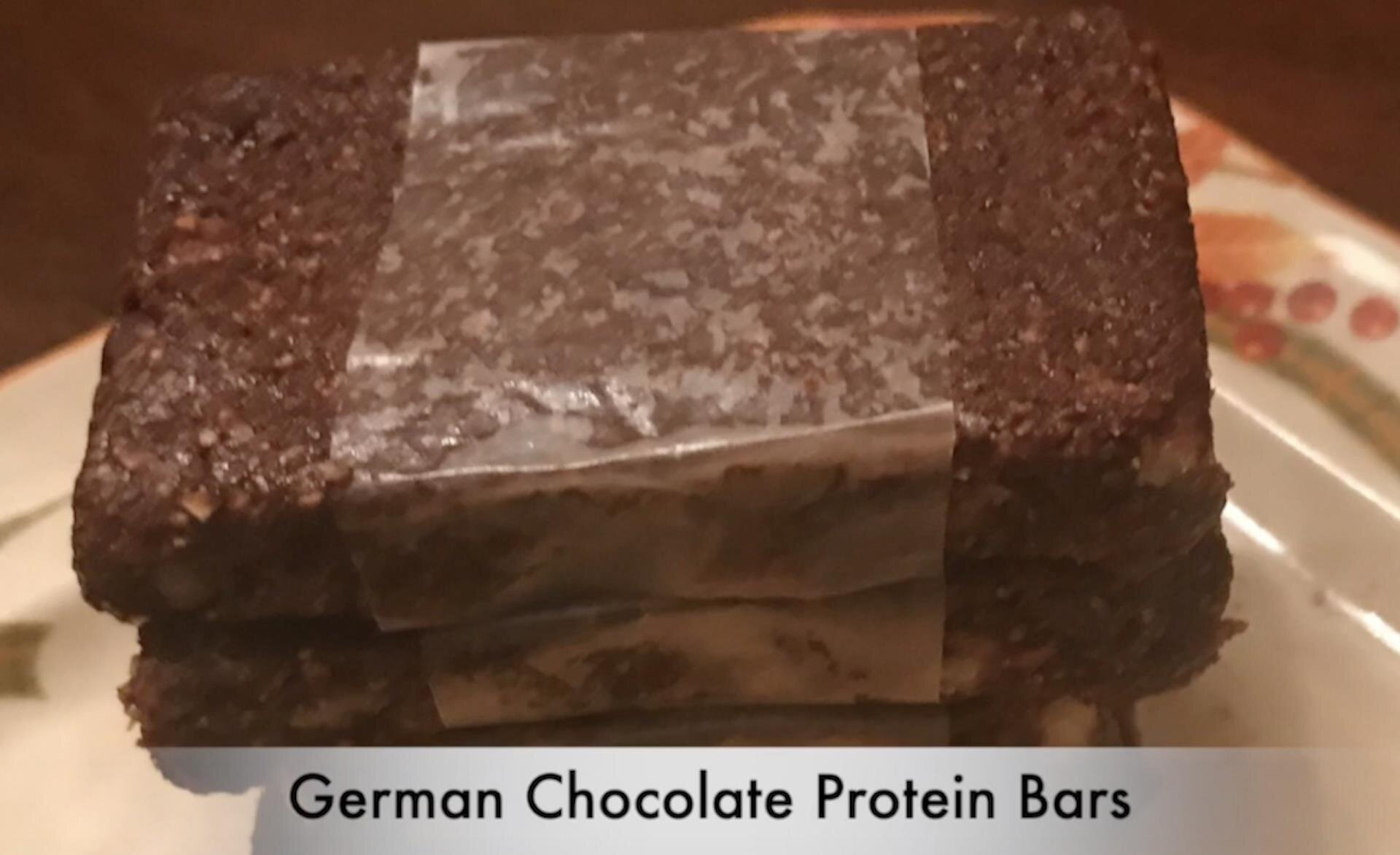 whey protein energy bars