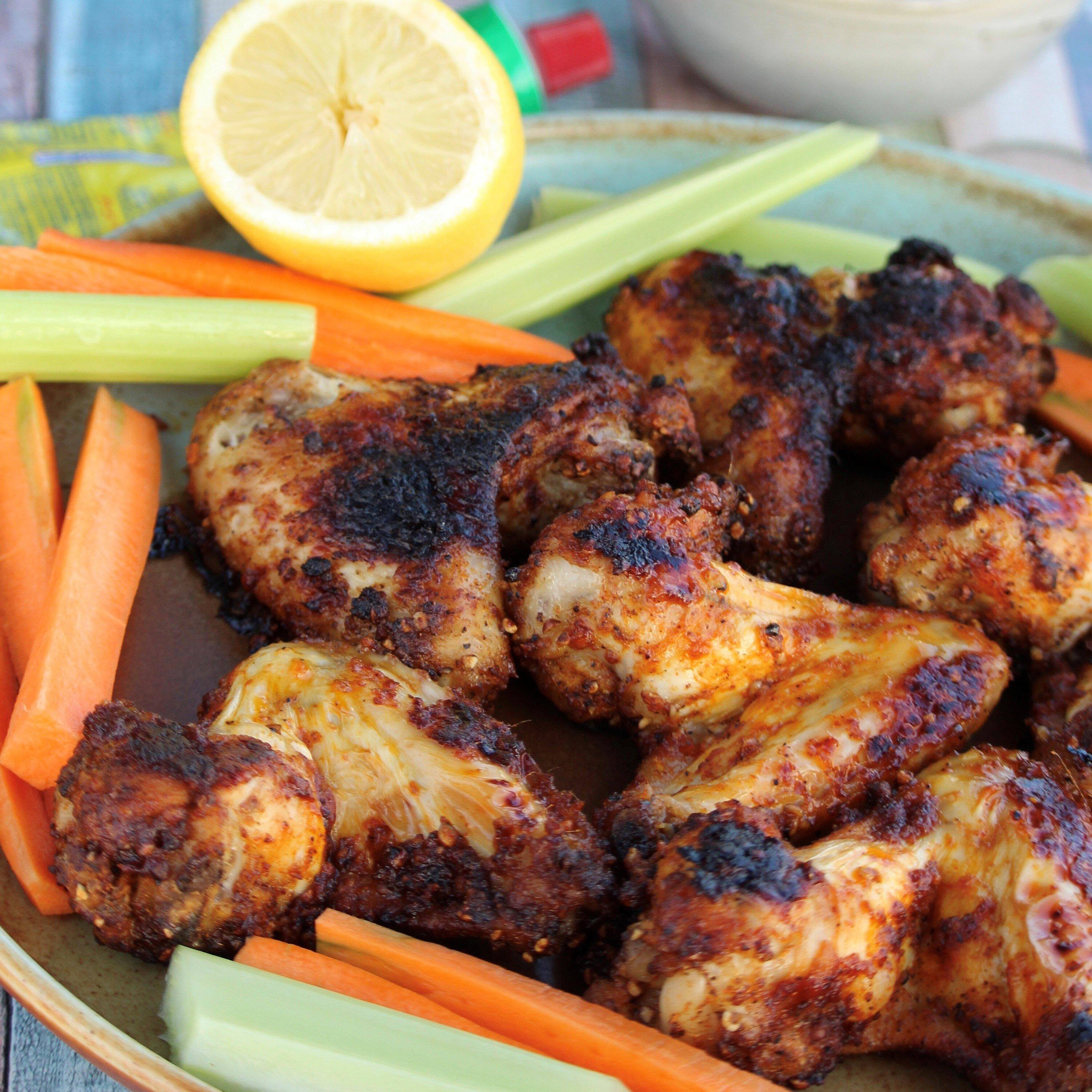 harissa and lemon pepper wings recipe