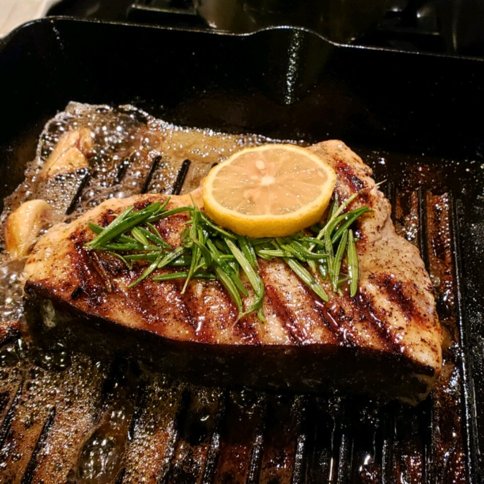 grilled swordfish with rosemary recipe