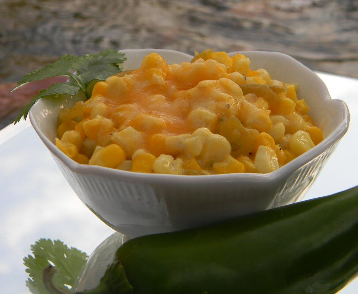 hot corn recipe