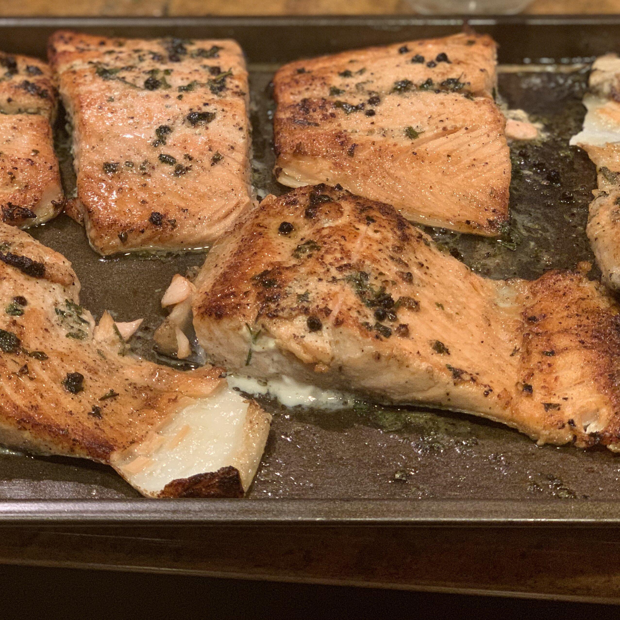 easy lemon pepper blackened salmon recipe