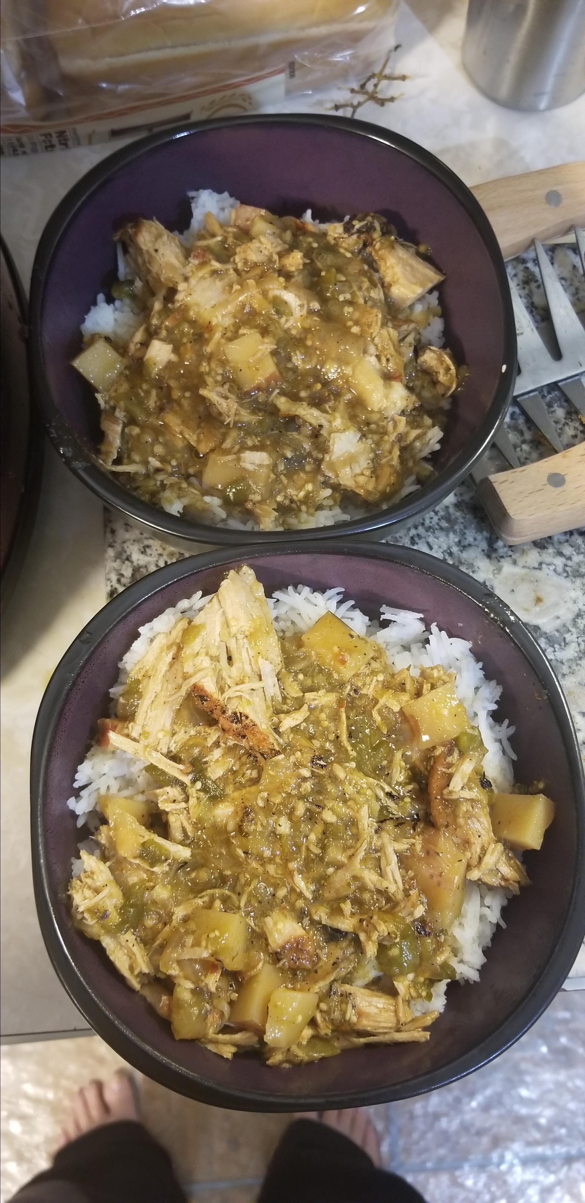 slow cooker pork green chili recipe