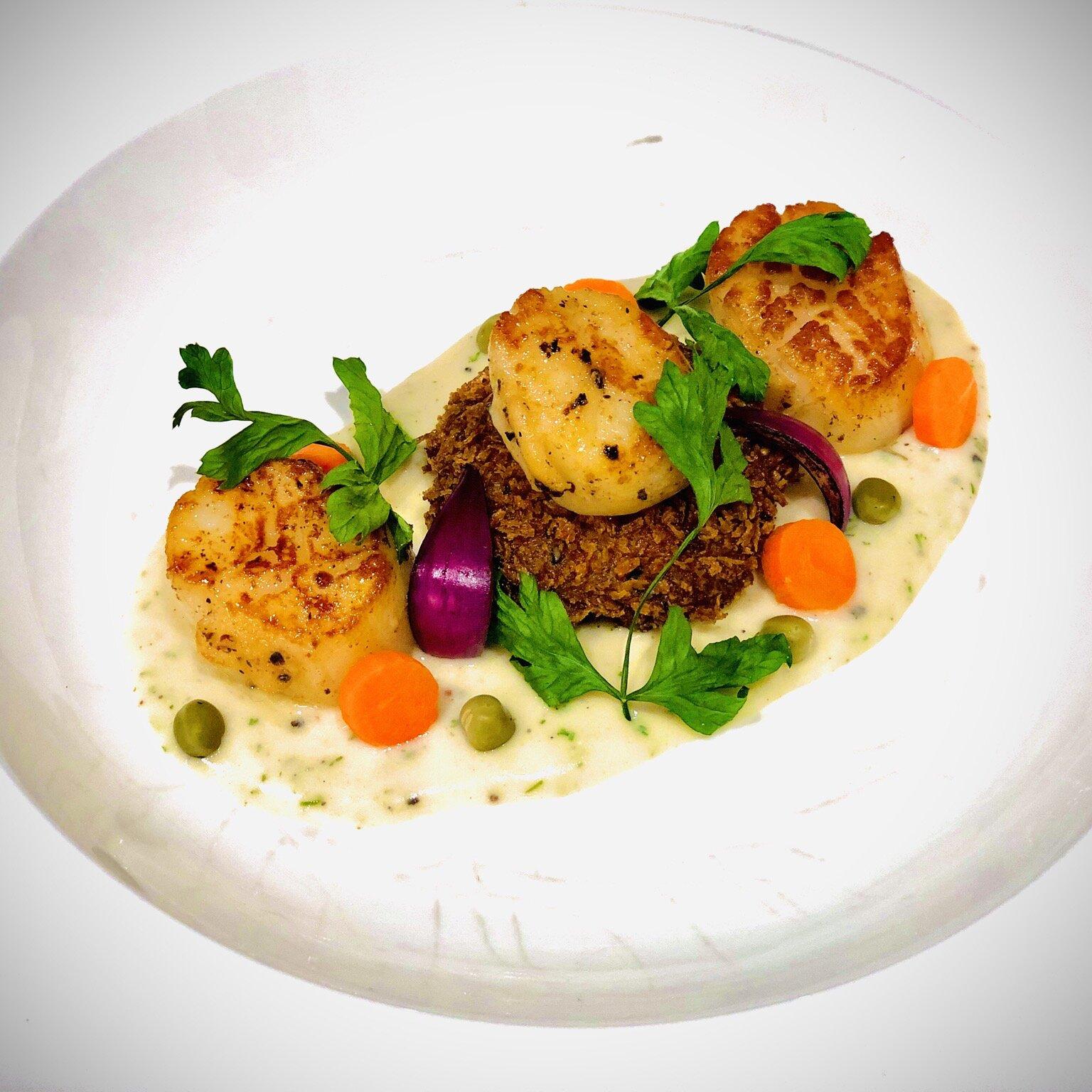 simply seared scallops recipe