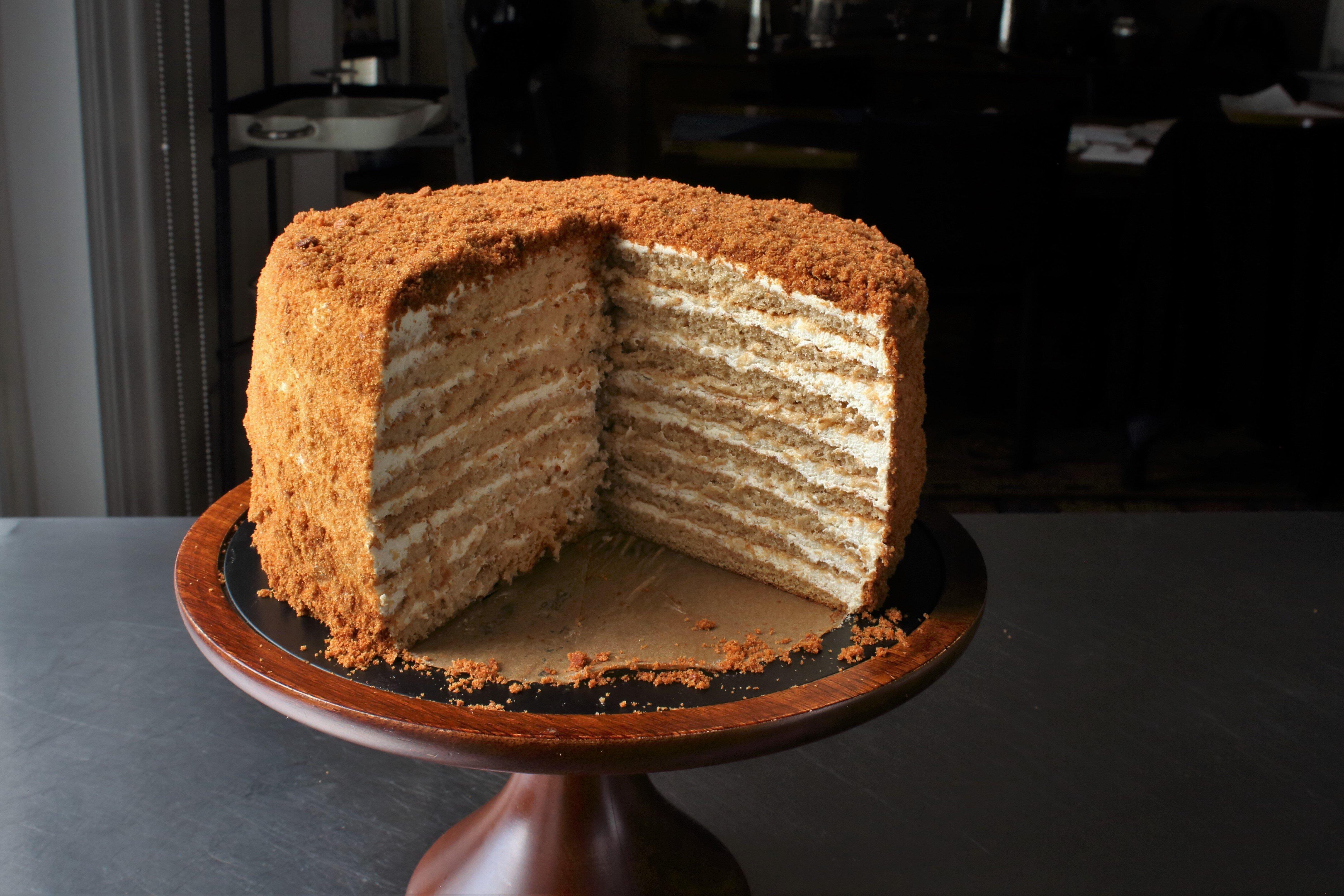 Russian Honey Cake Allrecipes