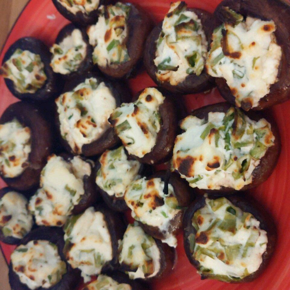 cheese stuffed mushroom appetizer recipe