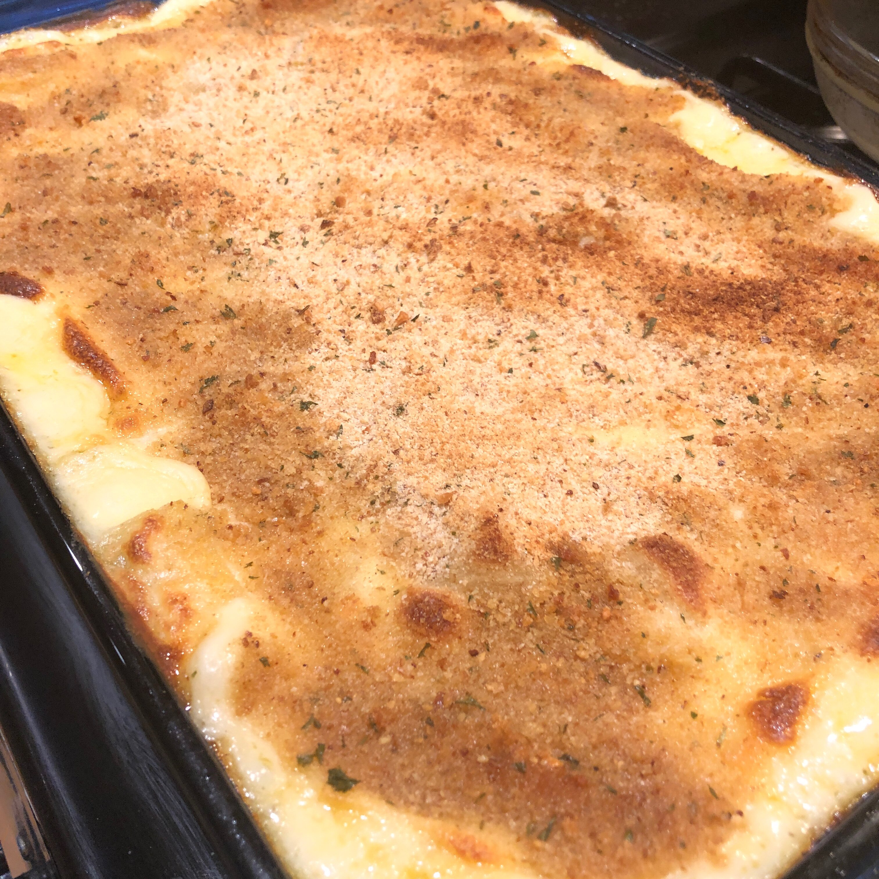 cheesy rutabaga bake recipe