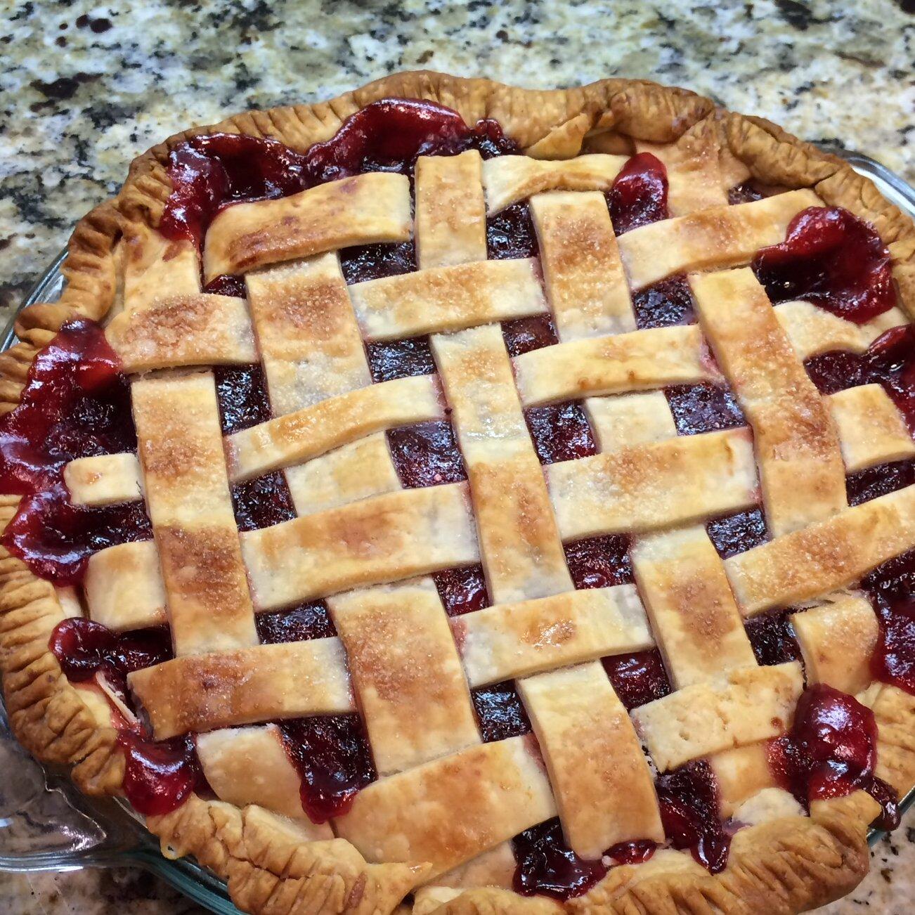 cranberry cherry pie recipe