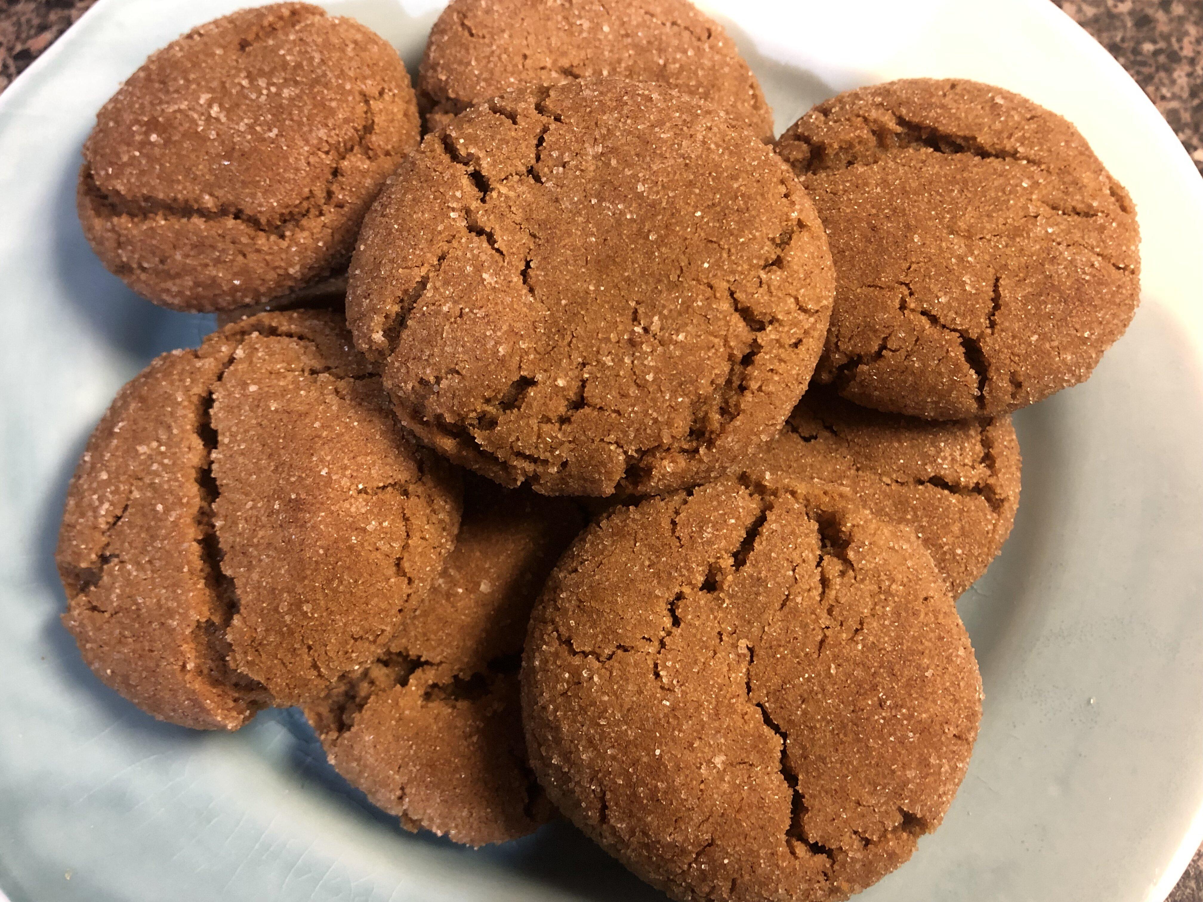 grandmas gingersnap cookies recipe