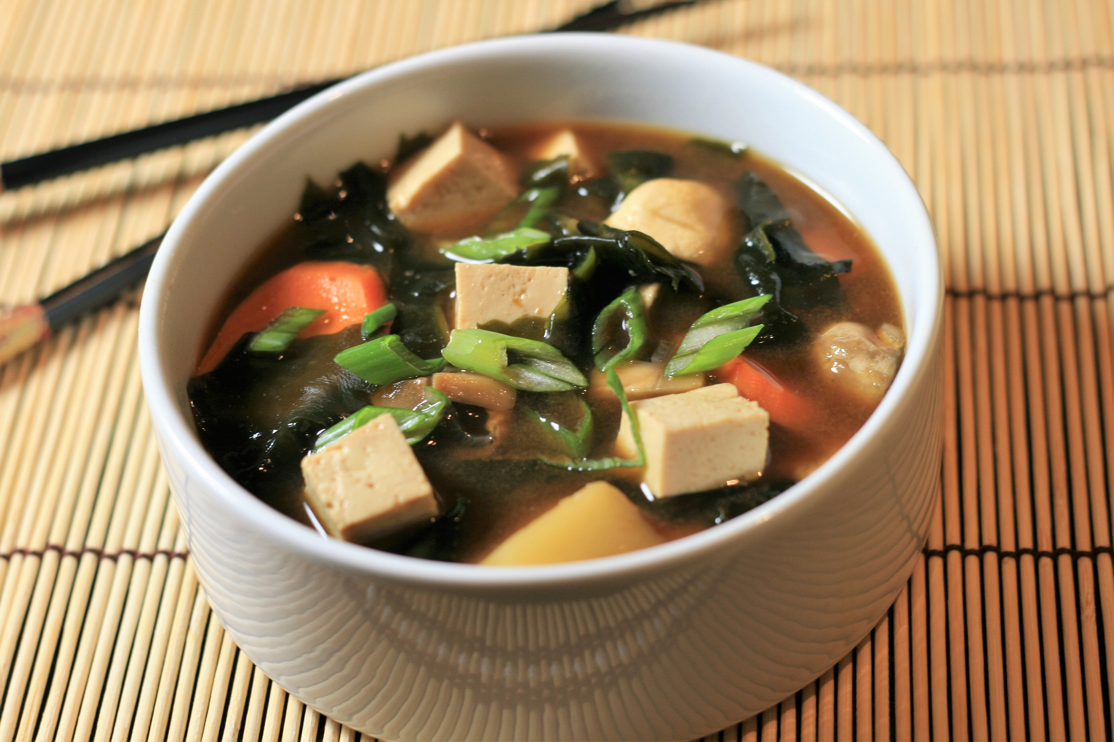 miso soup with seaweed recipe