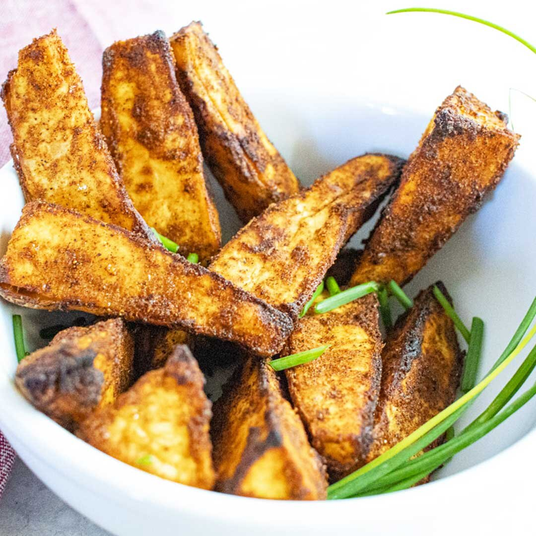 crispy sweet potato wedges recipe