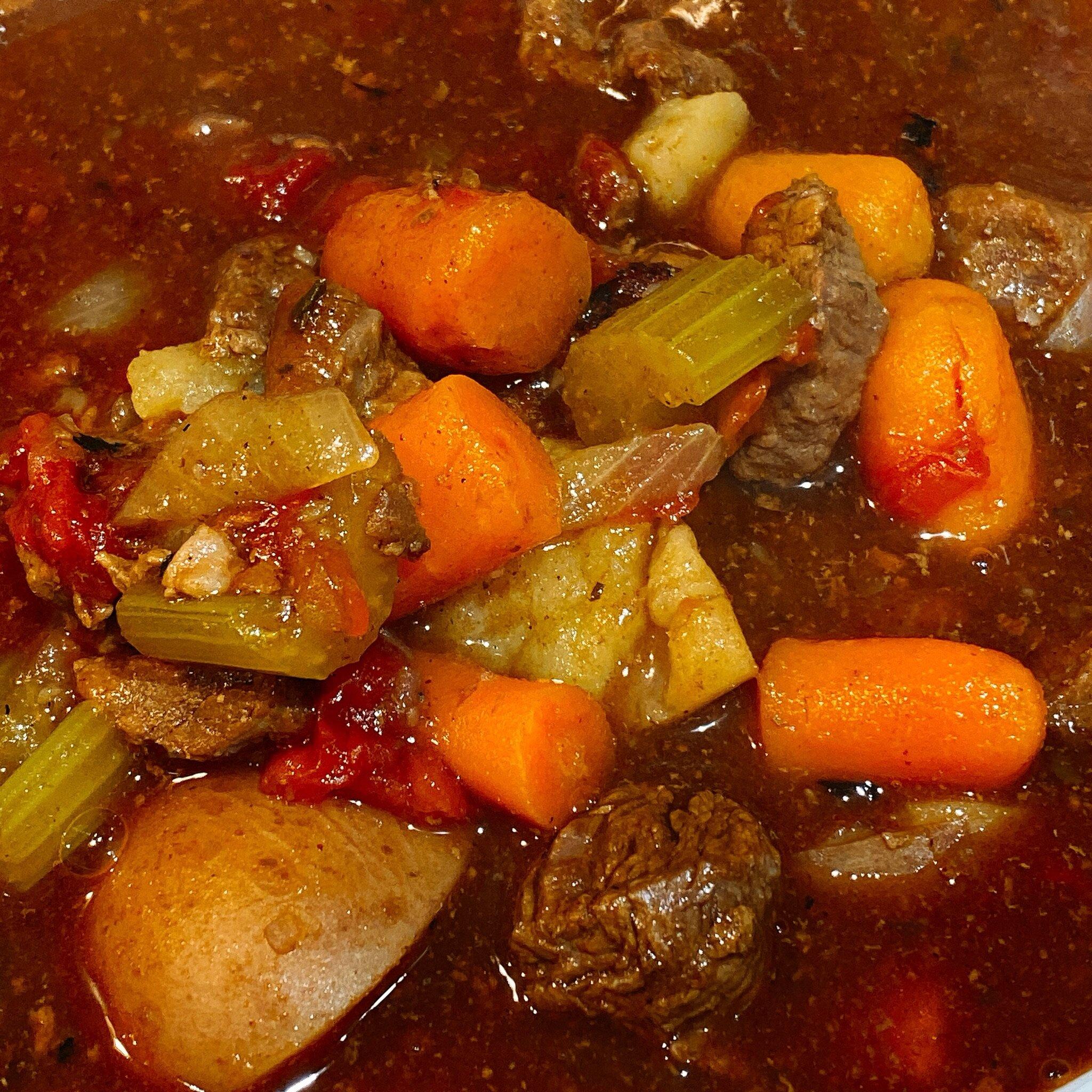 instant pot spicy beef stew recipe