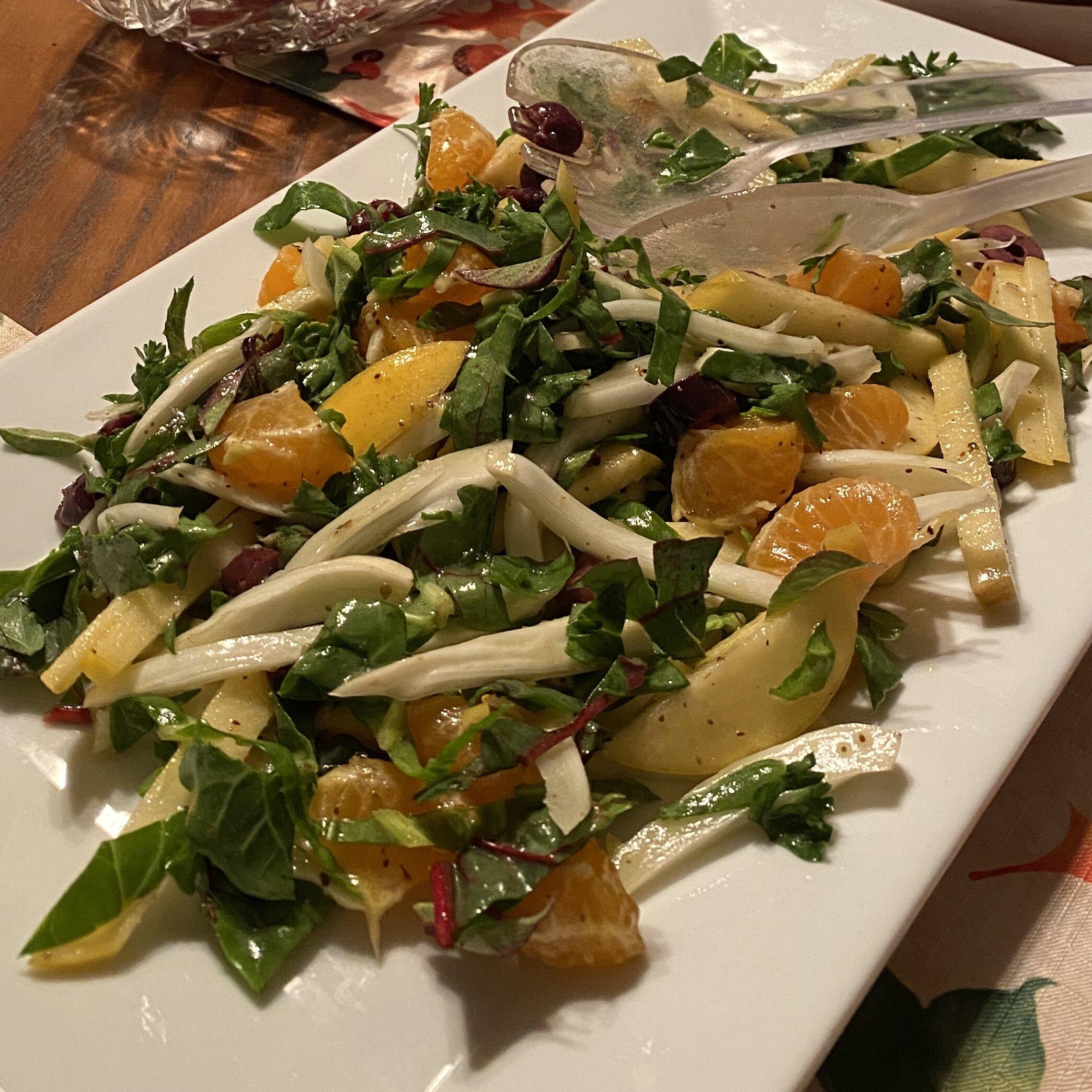 fennel apple salad