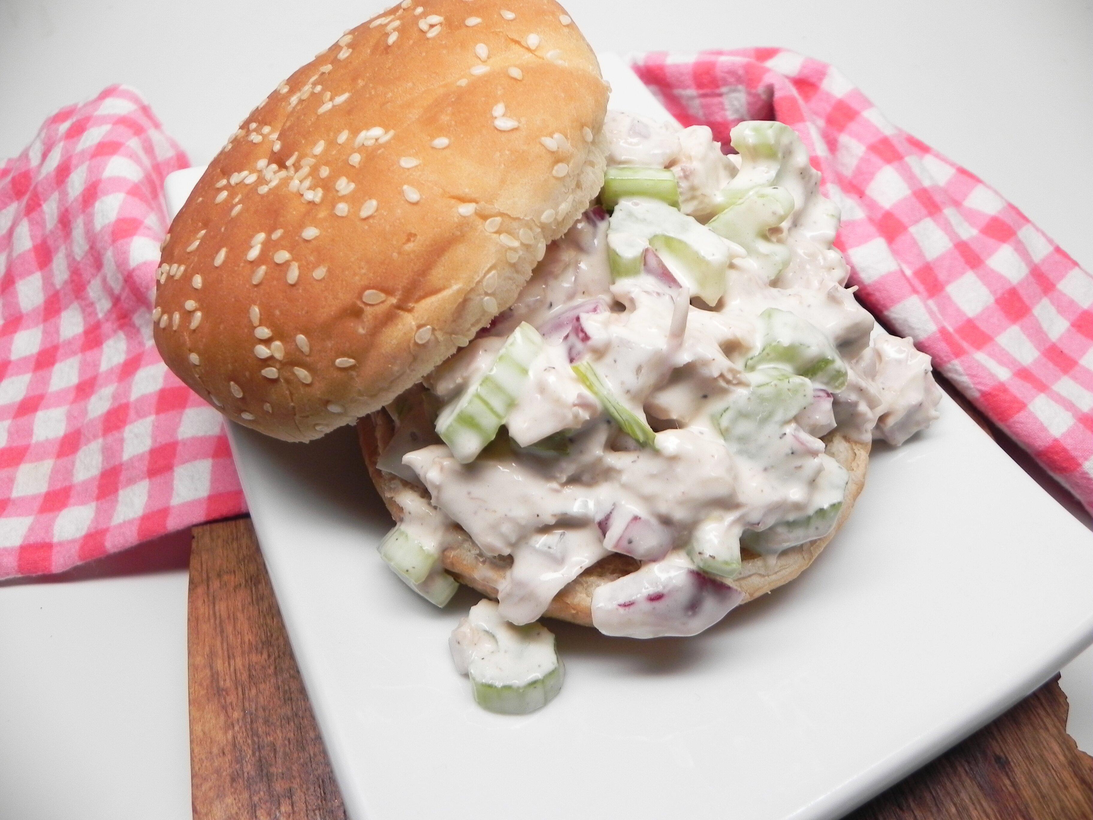 leftover chopped turkey salad recipe