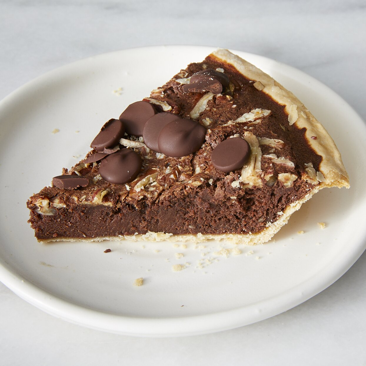 dark chocolate buttermilk pecan pie recipe