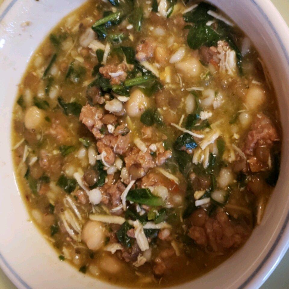 pressure cooker italian chicken soup recipe