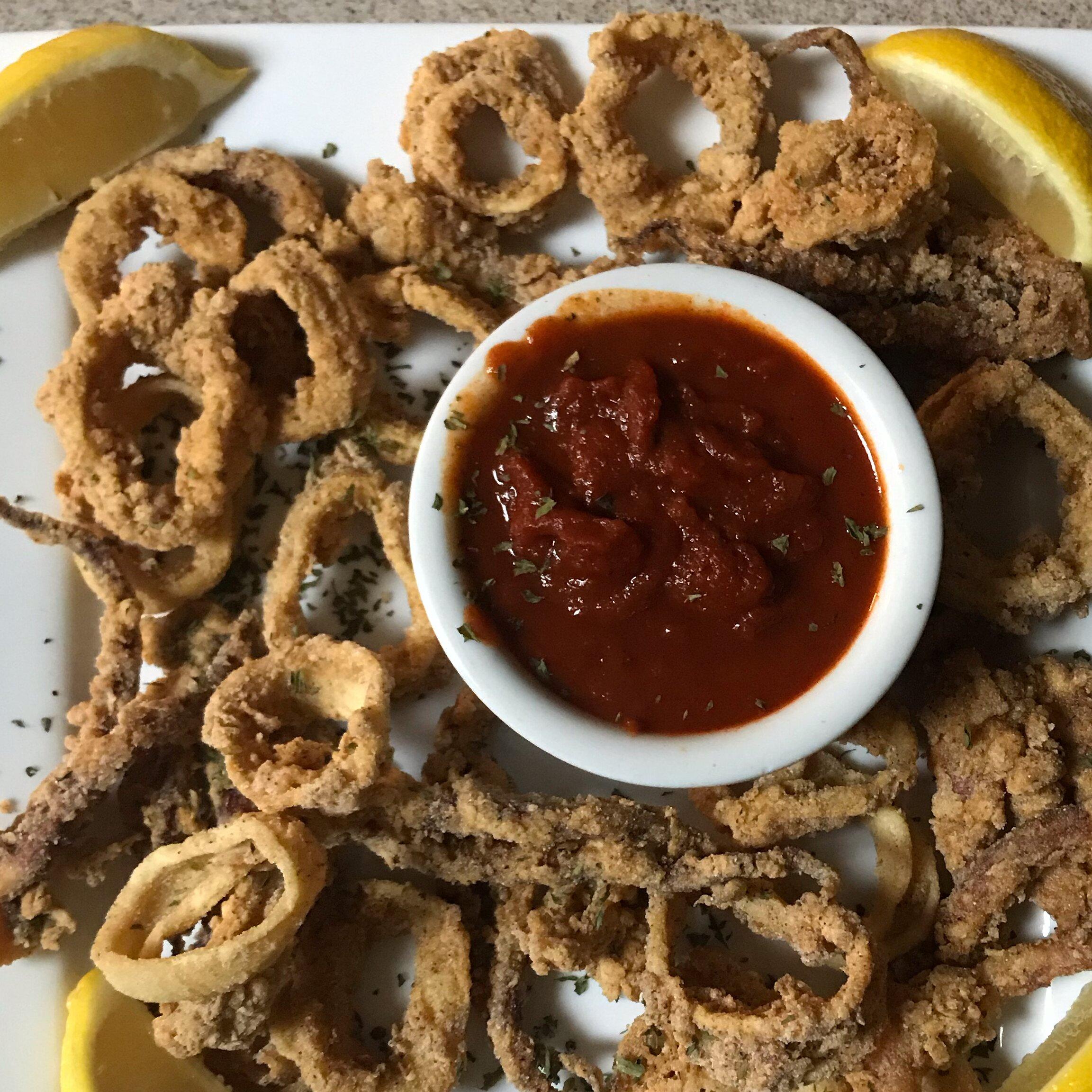 deep fried calamari rings recipe