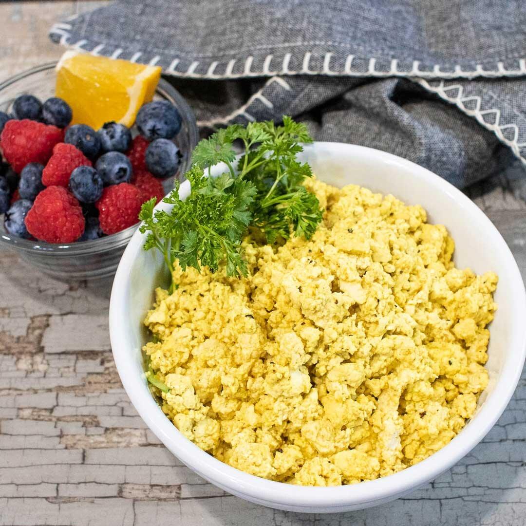 vegan tofu eggs recipe