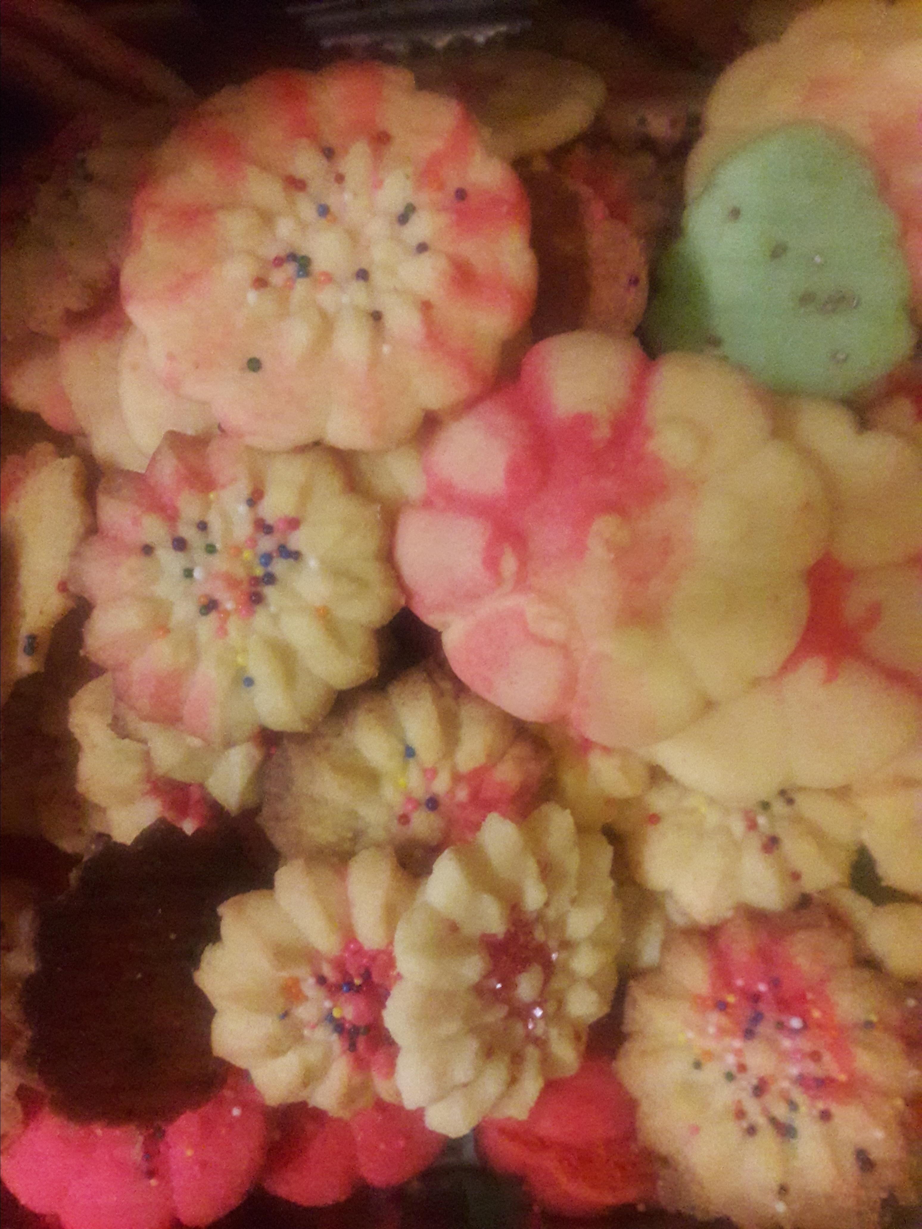 gelatin spritz cookies recipe
