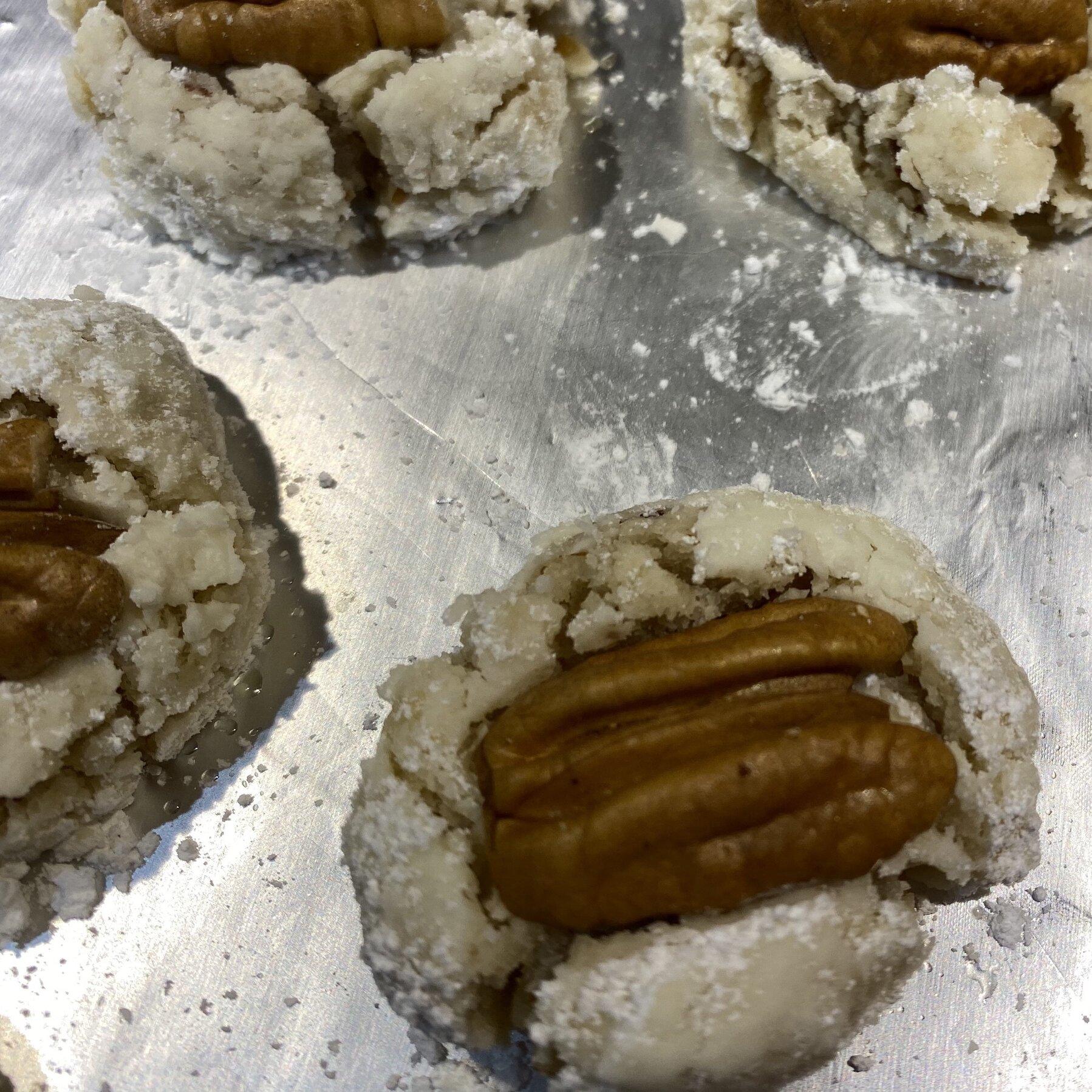 shortbread pecan cookies recipe