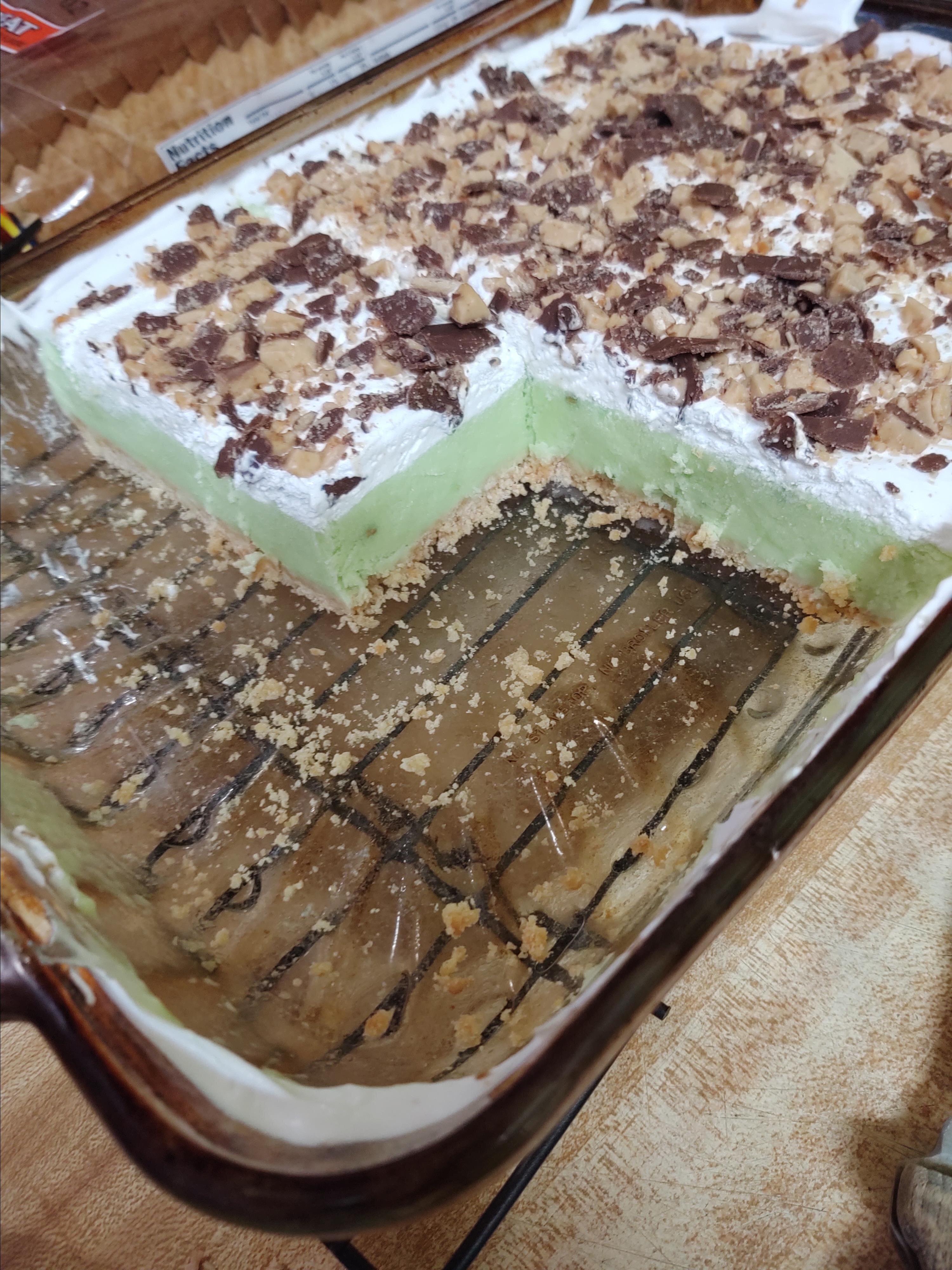 pistachio ice cream dessert recipe