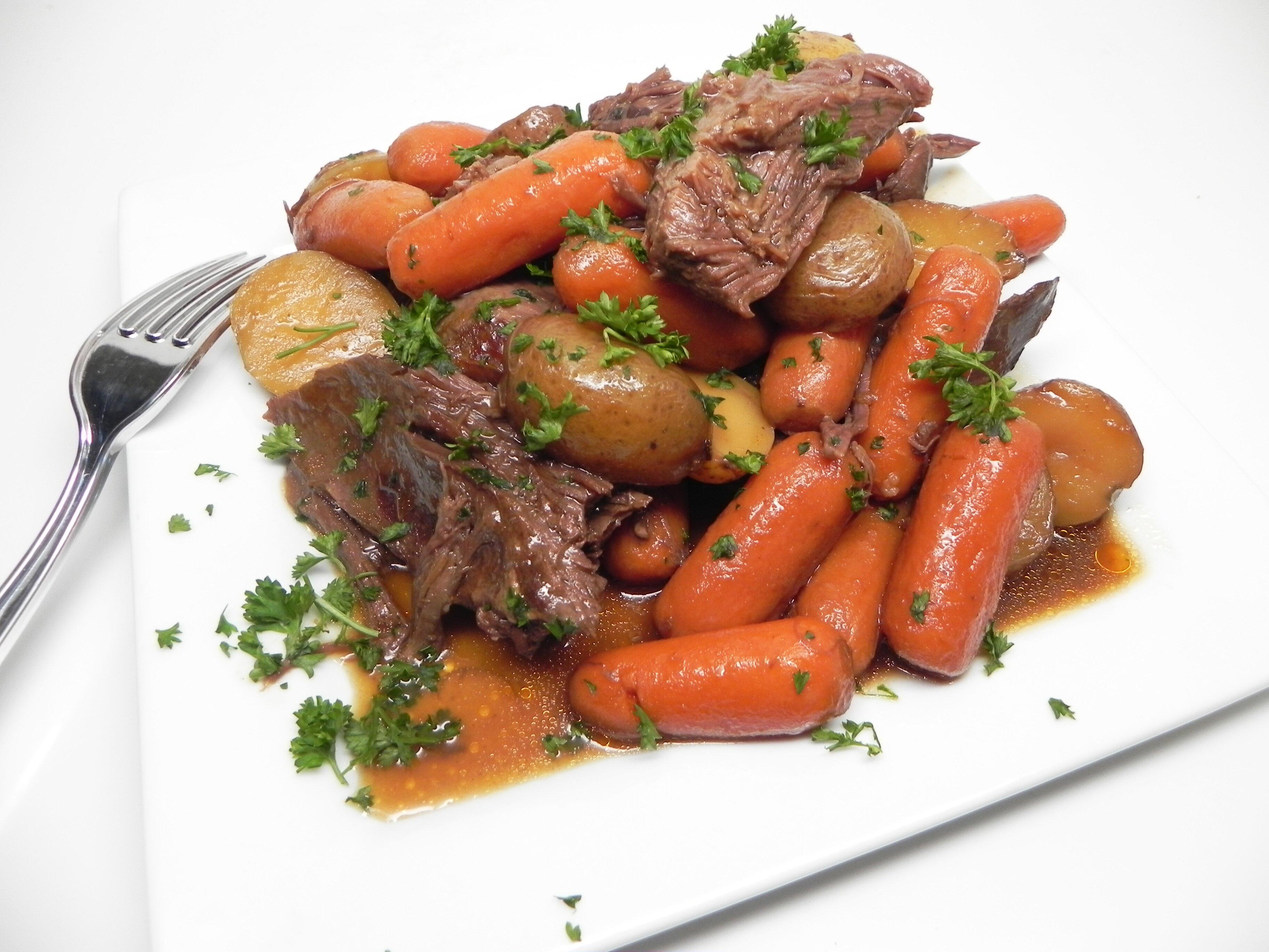 instant pot venison pot roast recipe