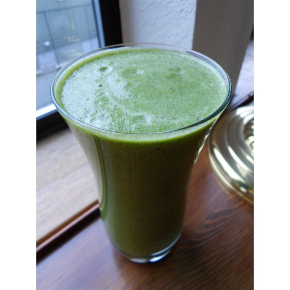 easy green monster smoothie recipe
