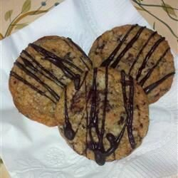 chocolate peppermint delight cookies