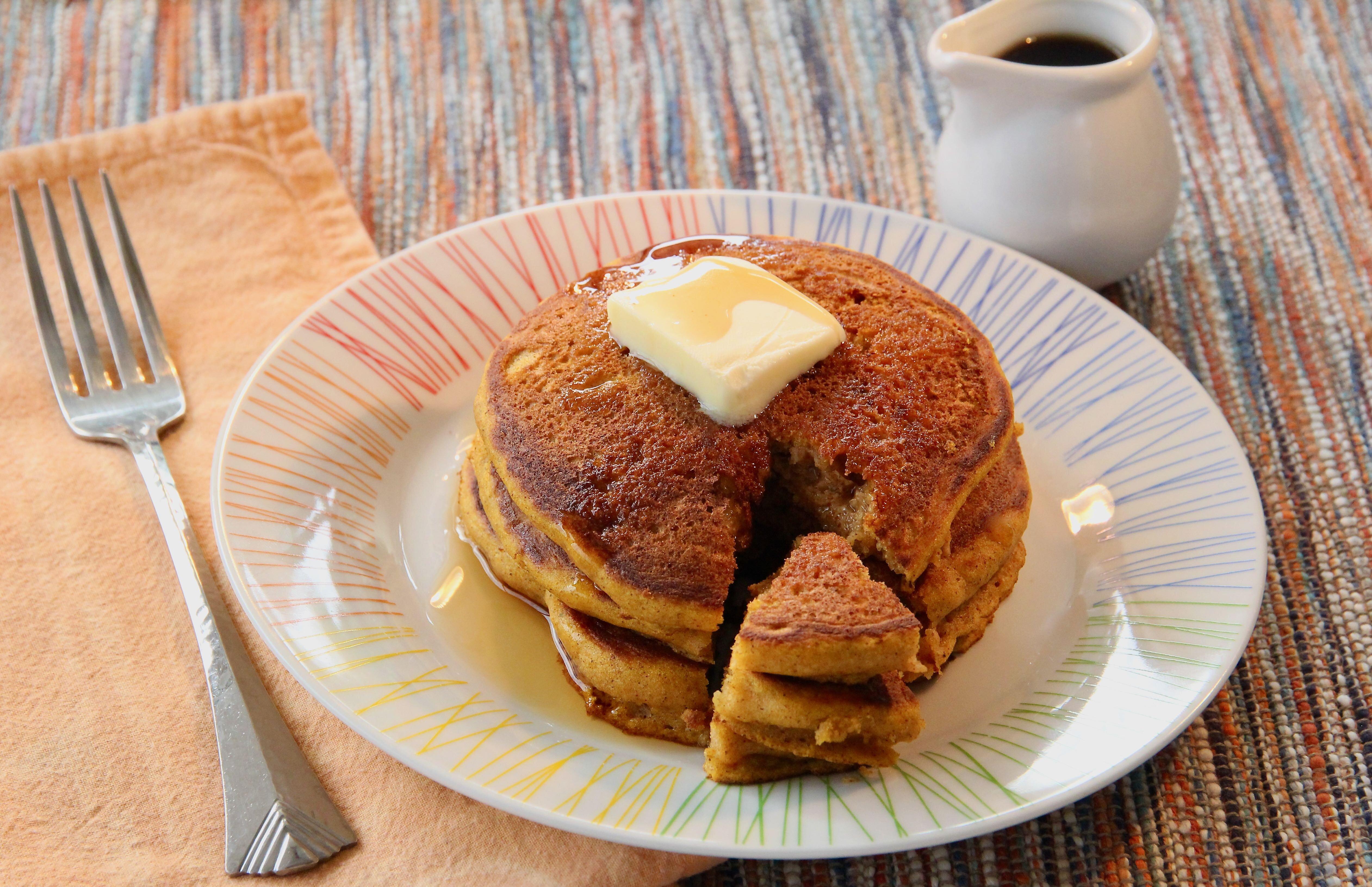 buttermilk pumpkin pancakes recipe