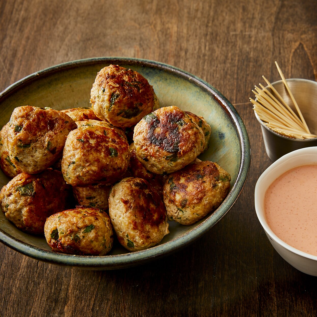 bris buffalo chicken meatballs recipe