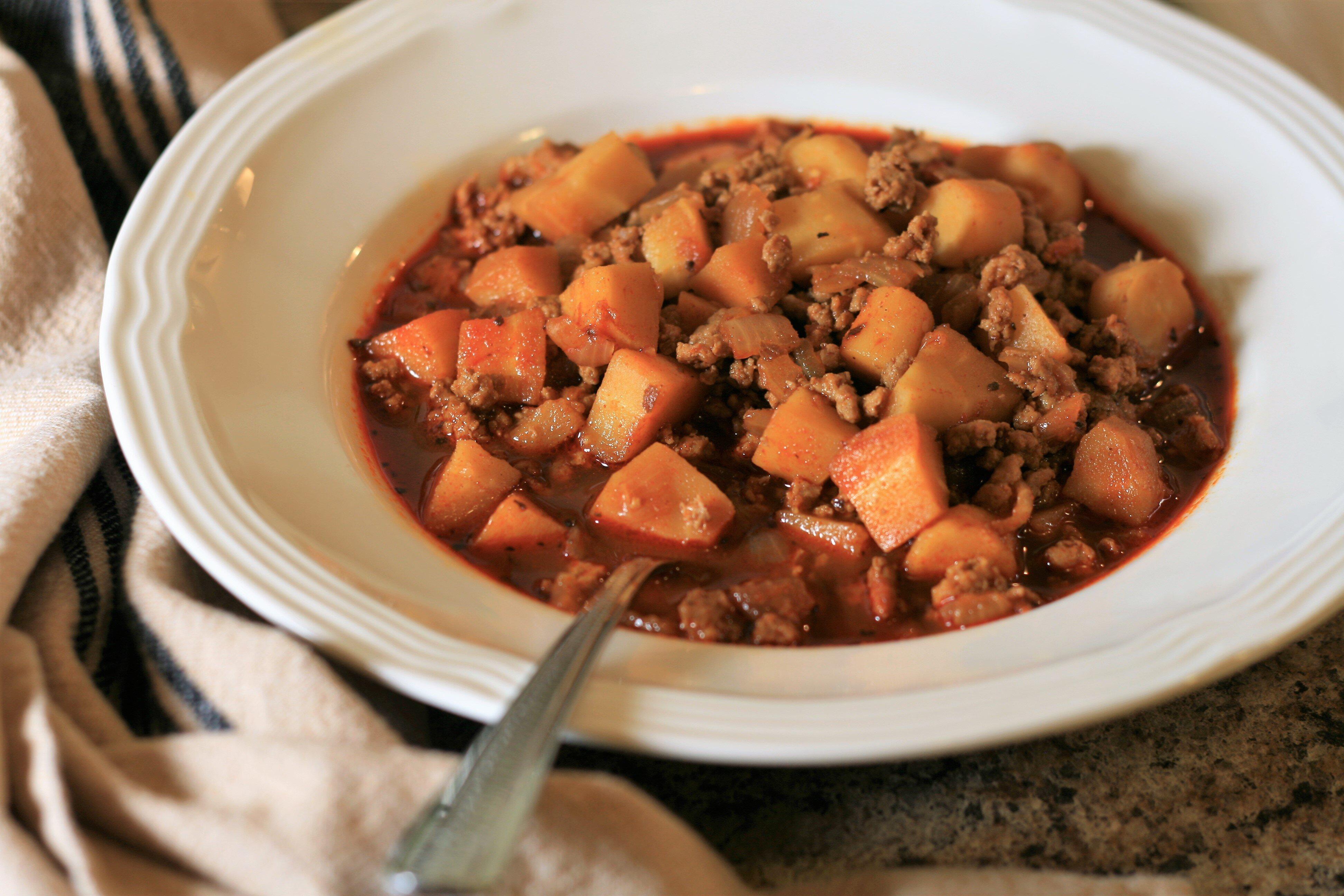 low carb low fat turkey goulash recipe
