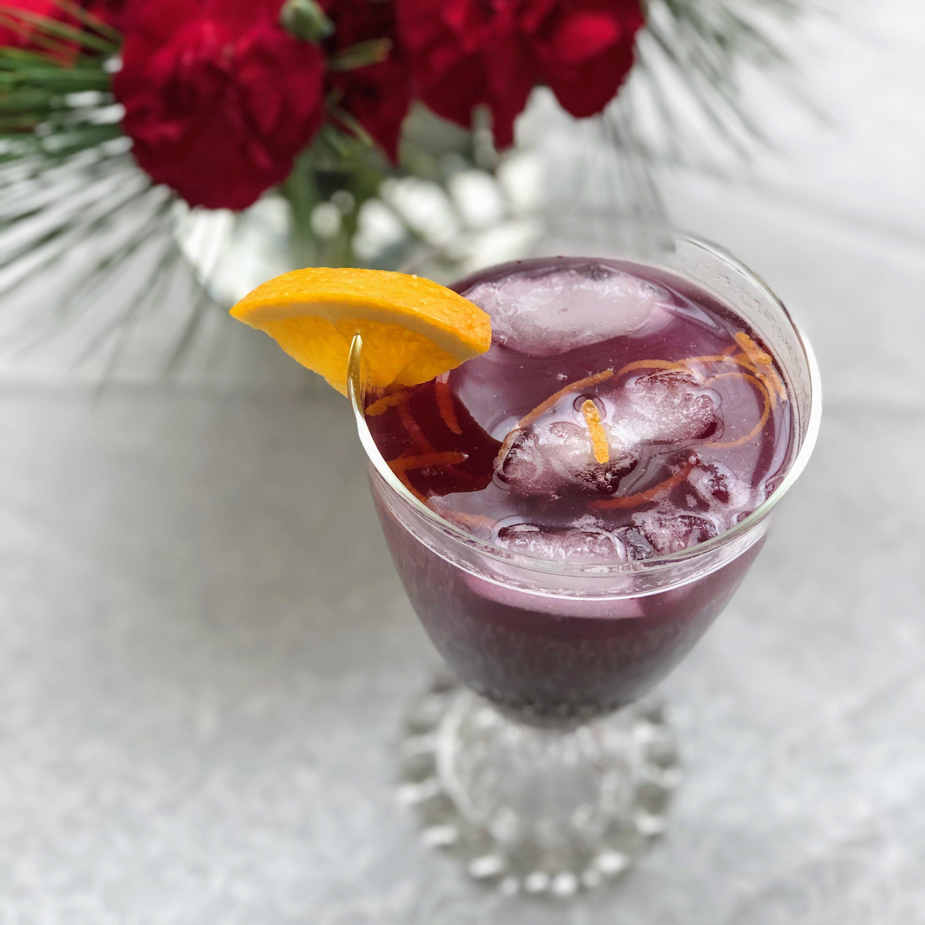 blueberry ginger fizz recipe