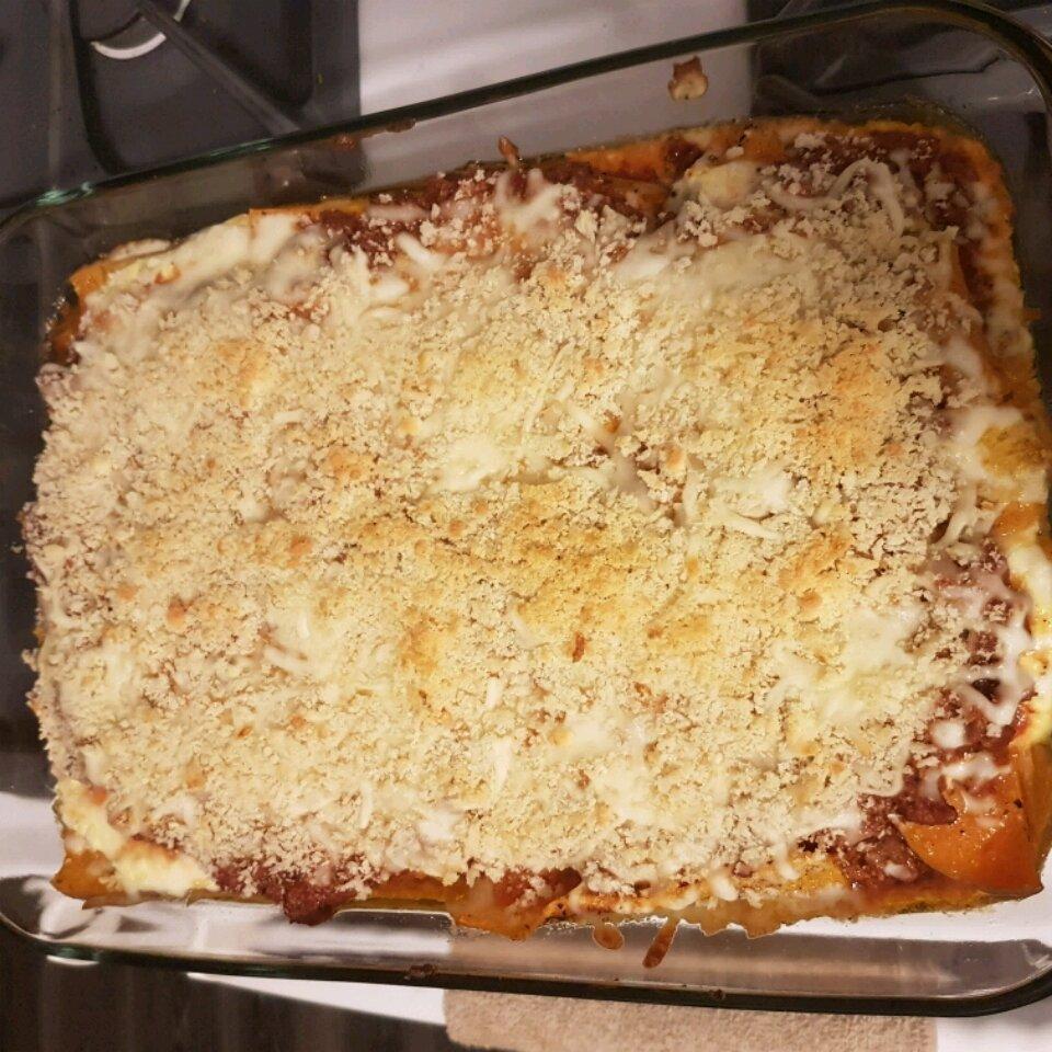 butternut squash and beef lasagna recipe