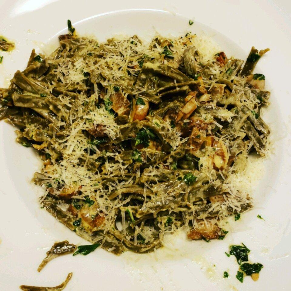 oyster mushroom pasta recipe
