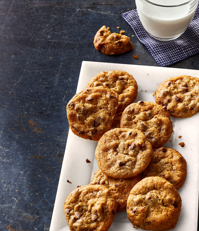 air fryer chocolate chip cookie bites recipe