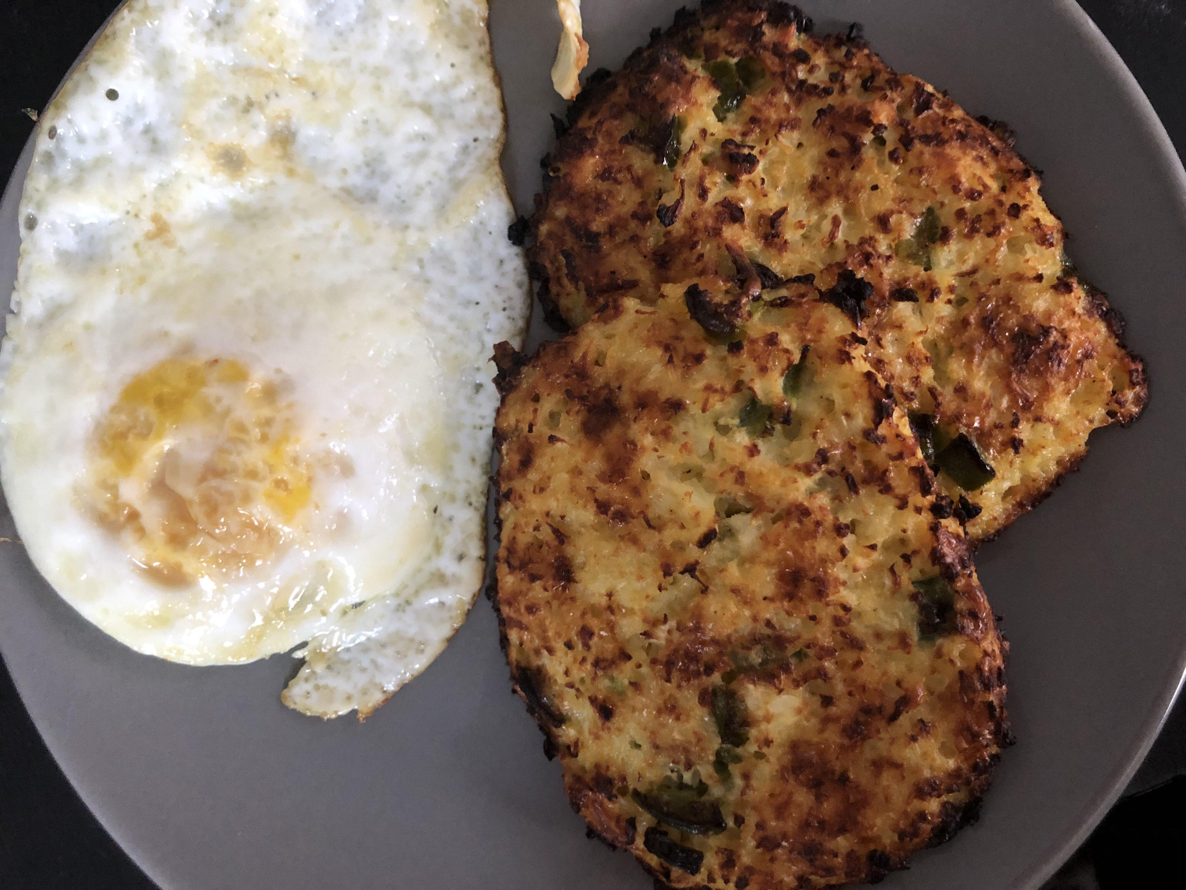 keto cauliflower hash browns recipe