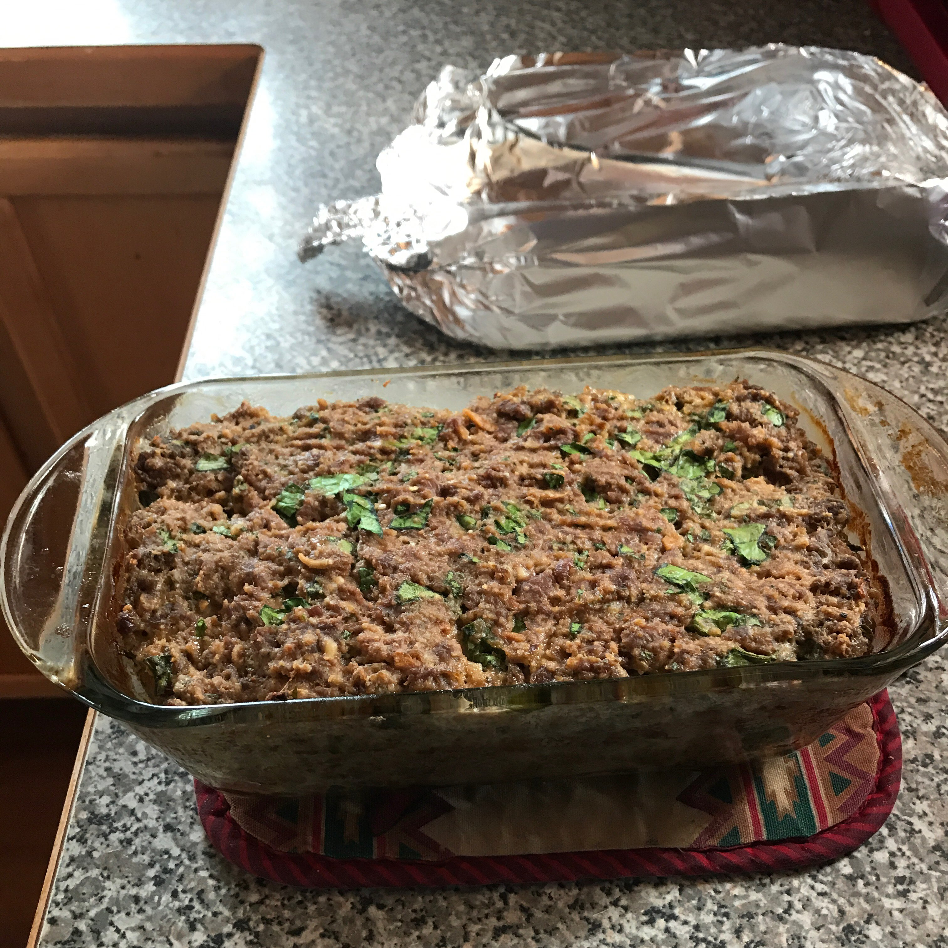 simply divine meat loaf with spinach recipe